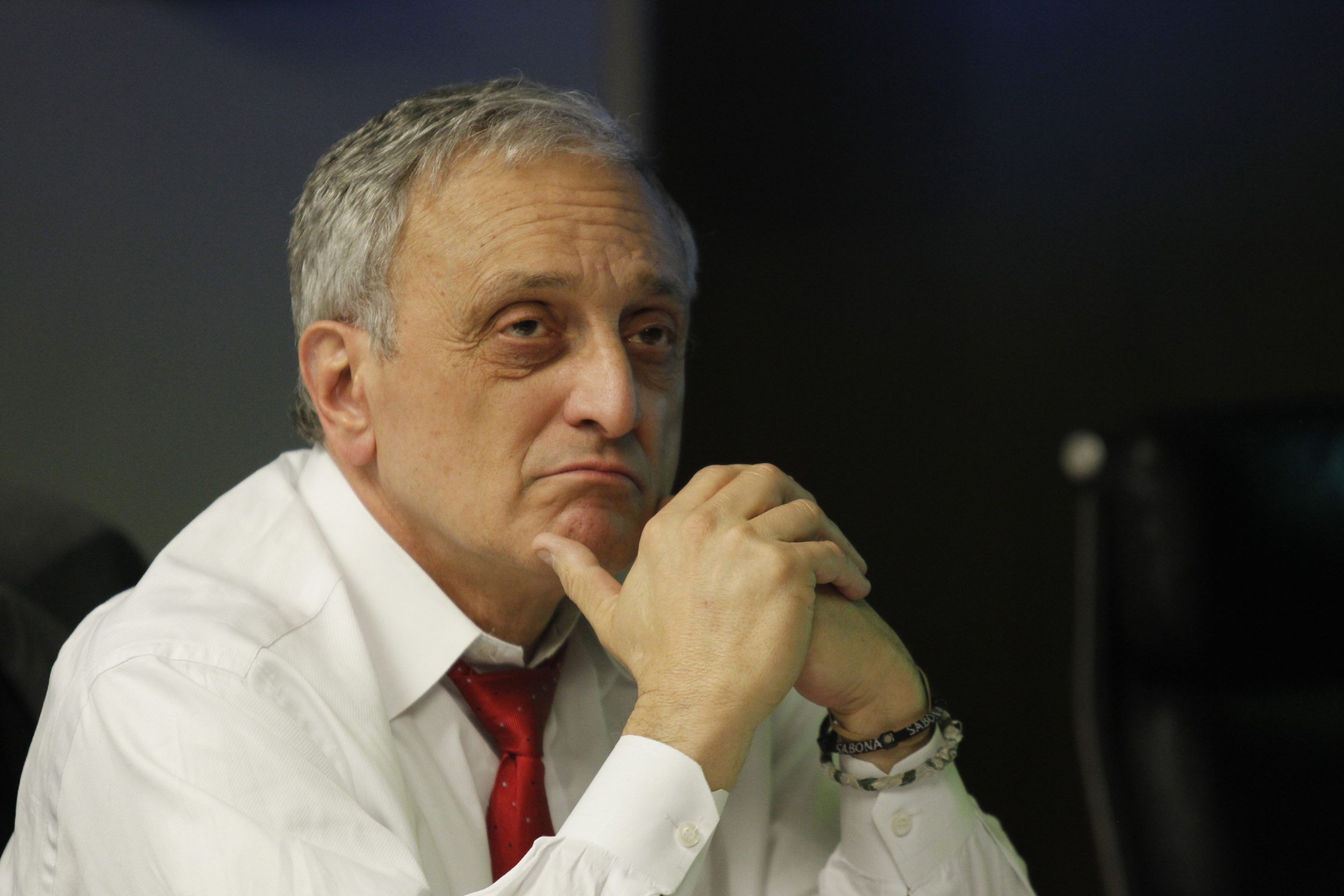 "Carl Paladino says: ""We don't intend to even remotely try to put housing on Ganson Street, or do further recreation."" (Harry Scull Jr./Buffalo News)"