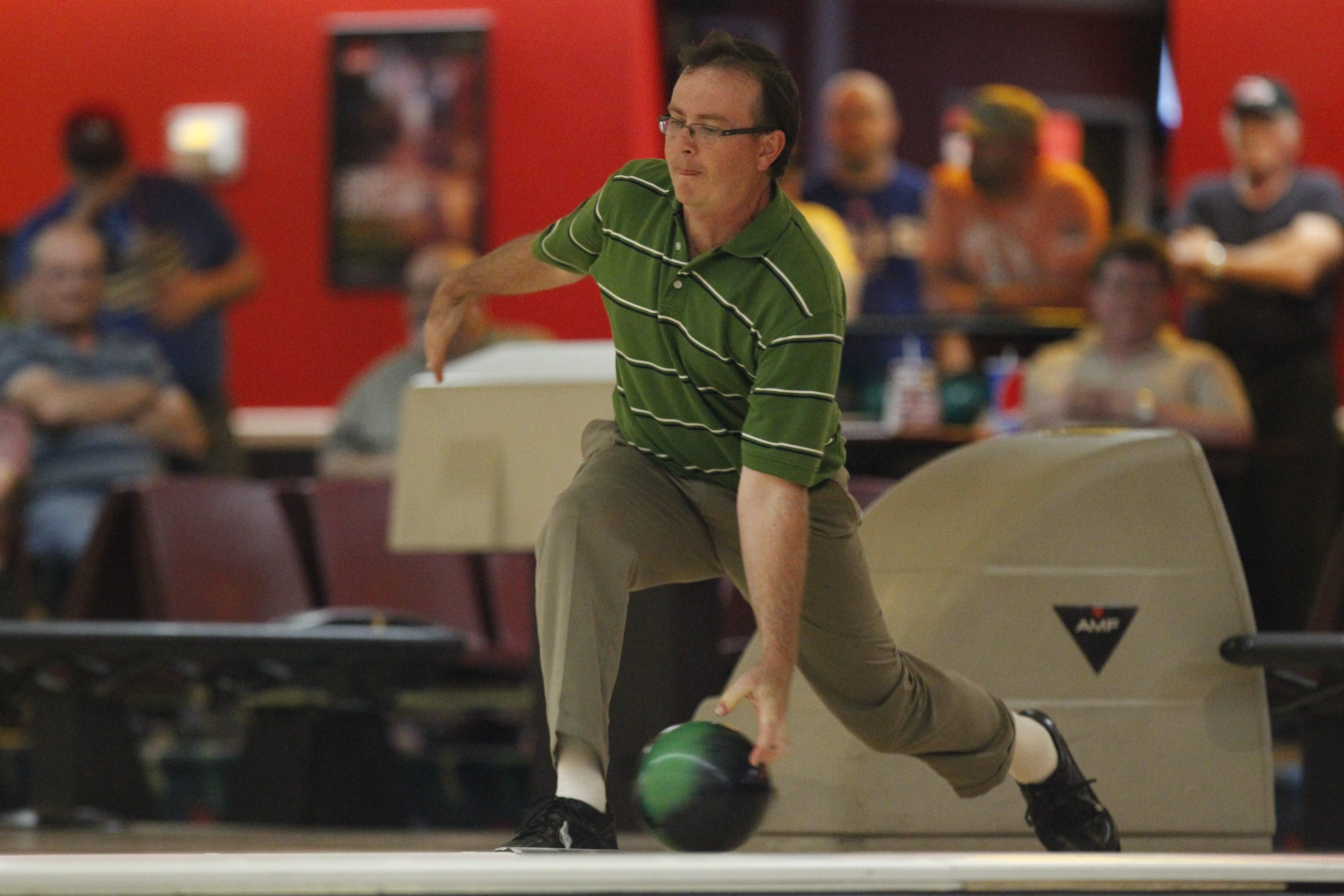 Tony Dolan of West Seneca had a big year in 2015, winning the George A. Obenauer Masters in a dramatic finish, as well as shooting an 869 series in a league match at Broadway. (Harry Scull Jr./Buffalo News)