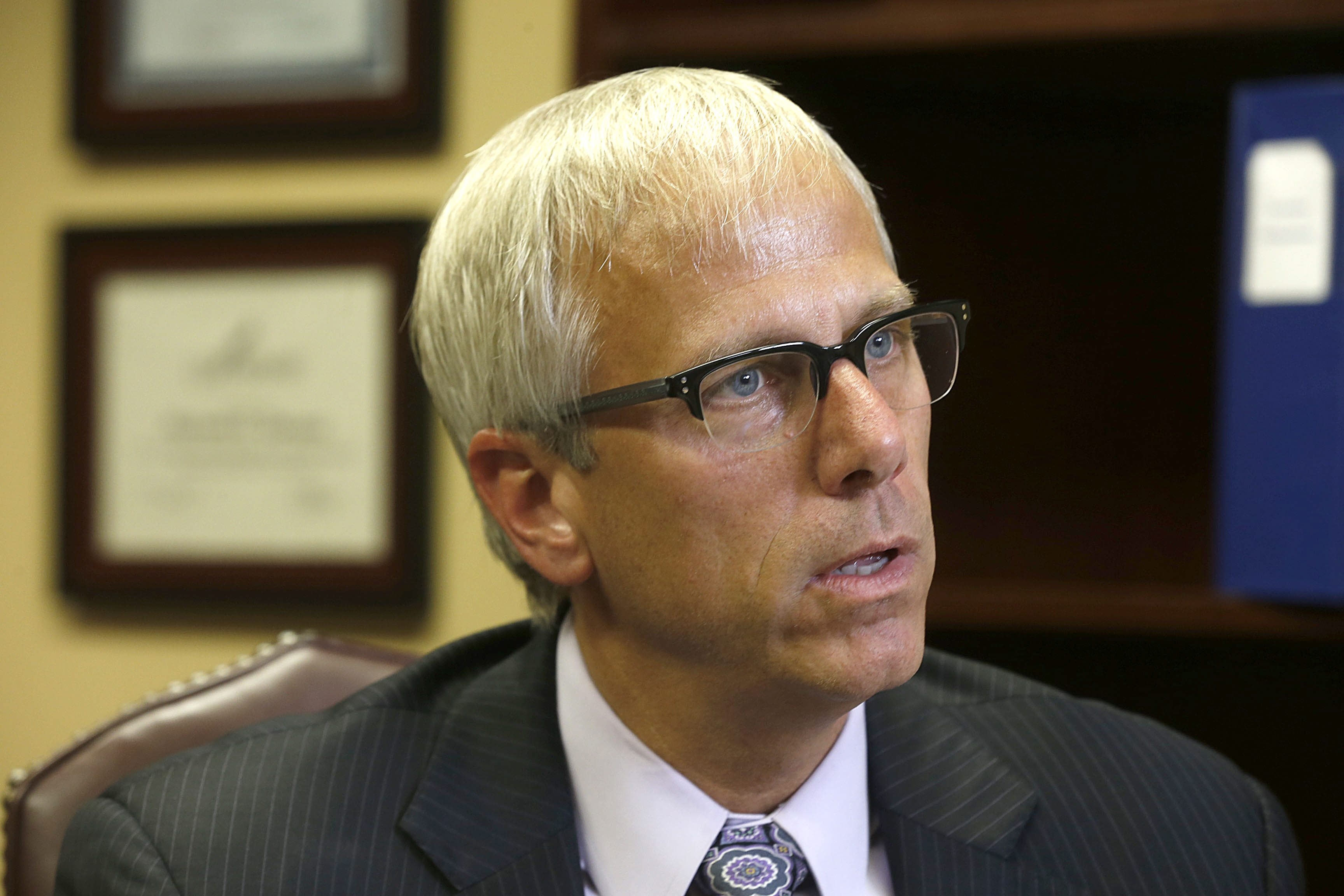 ECMC has agreed to pay ts former CEO Richard Cleland $1.2 million in a settlement announced Wednesday, seven weeks after his ouster.  (Robert Kirkham/Buffalo News)