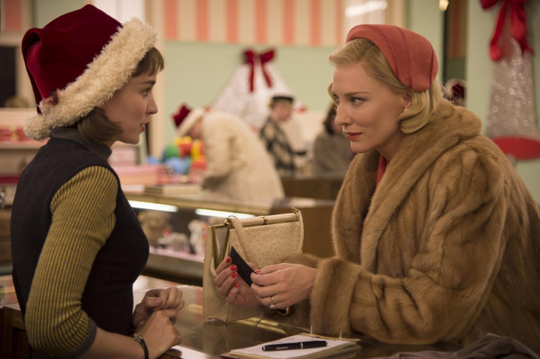 "Cate Blanchett stars in ""Carol."""