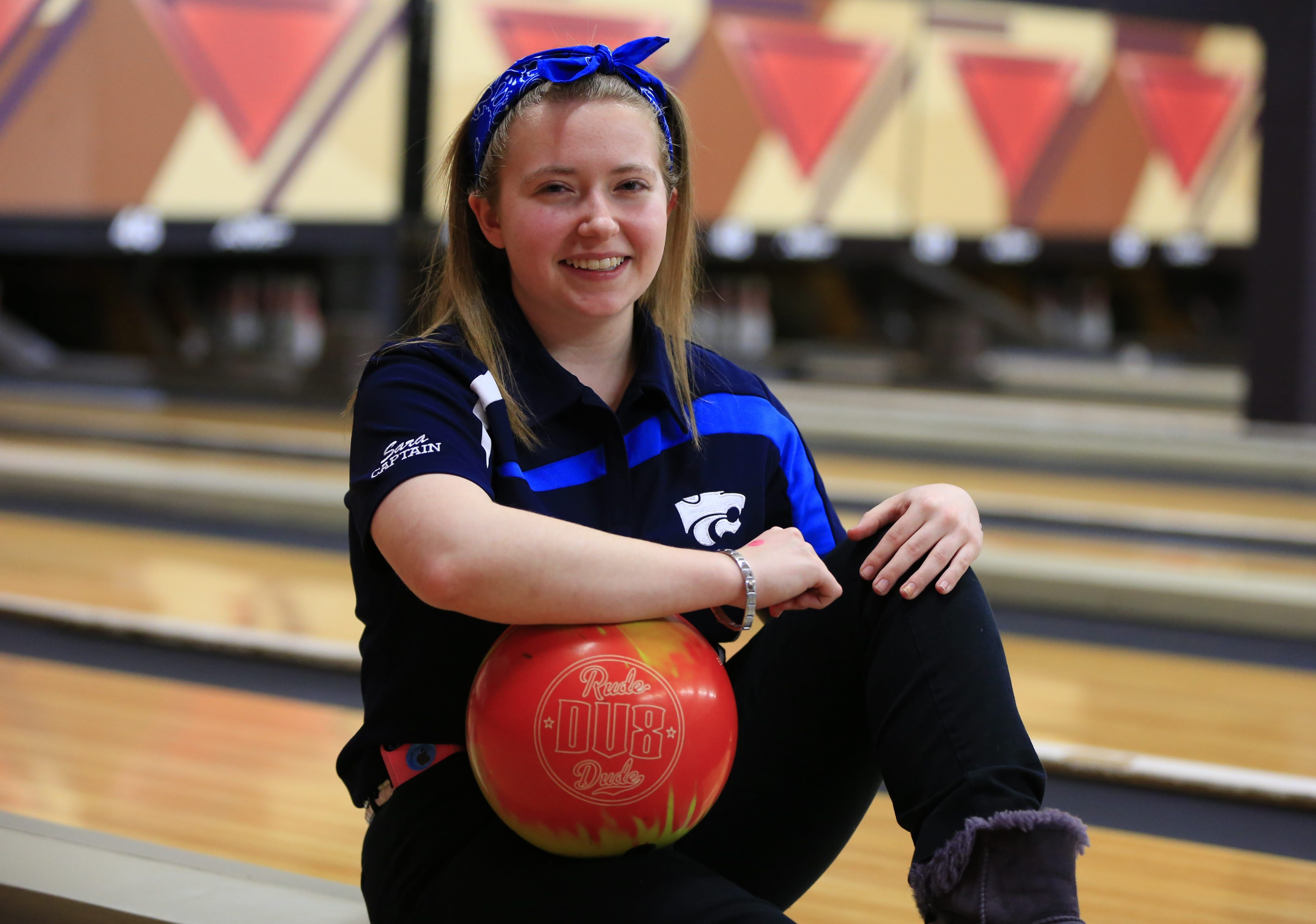Depew's Sara Snyder won the 2015 Section VI girls bowling title with a pin total of 1197. She looks to repeat her success her senior season.