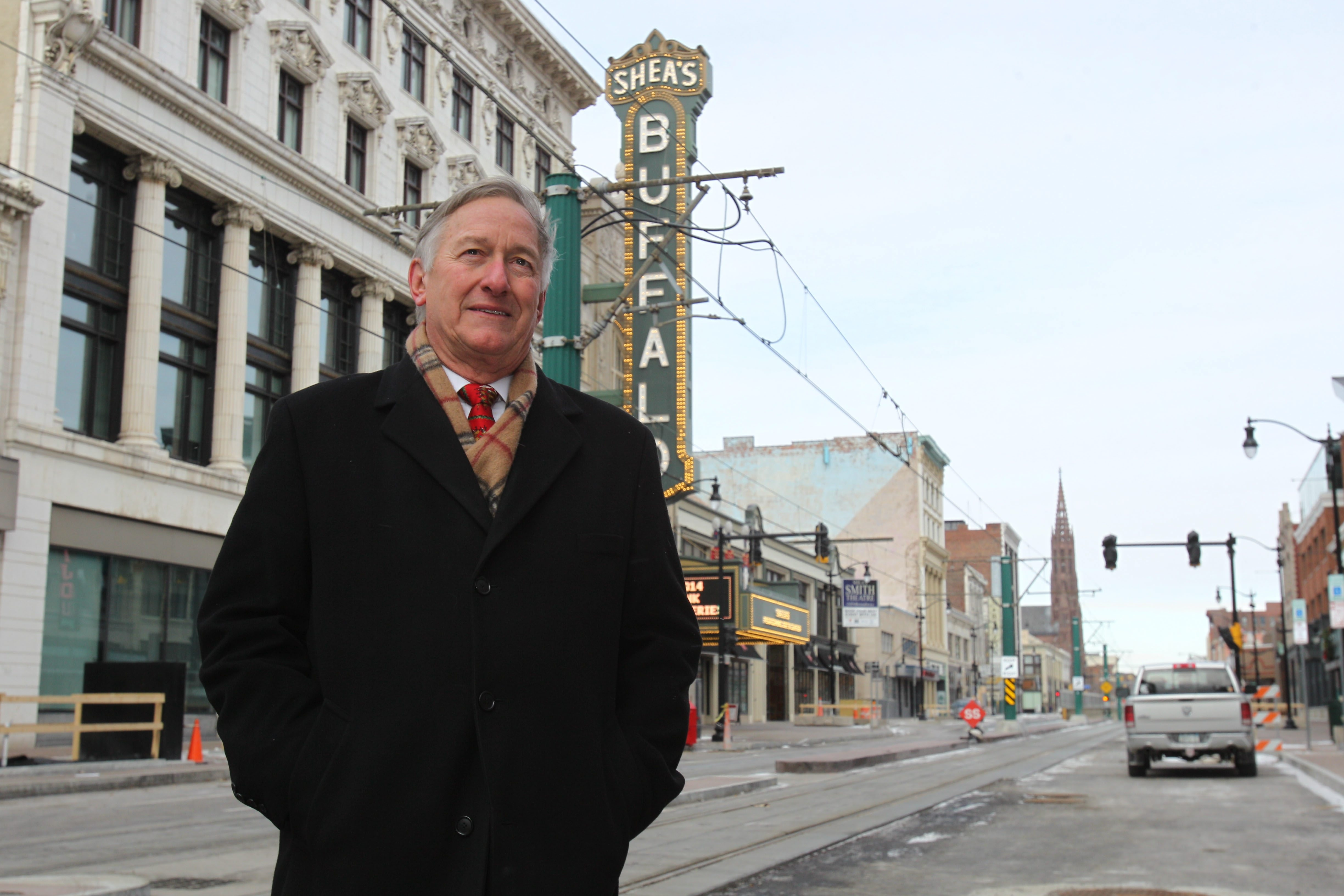 Anthony Conte deserves much of the praise for the revival of Shea's Performing Arts Center. (Sharon Cantillon/Buffalo News file photo)
