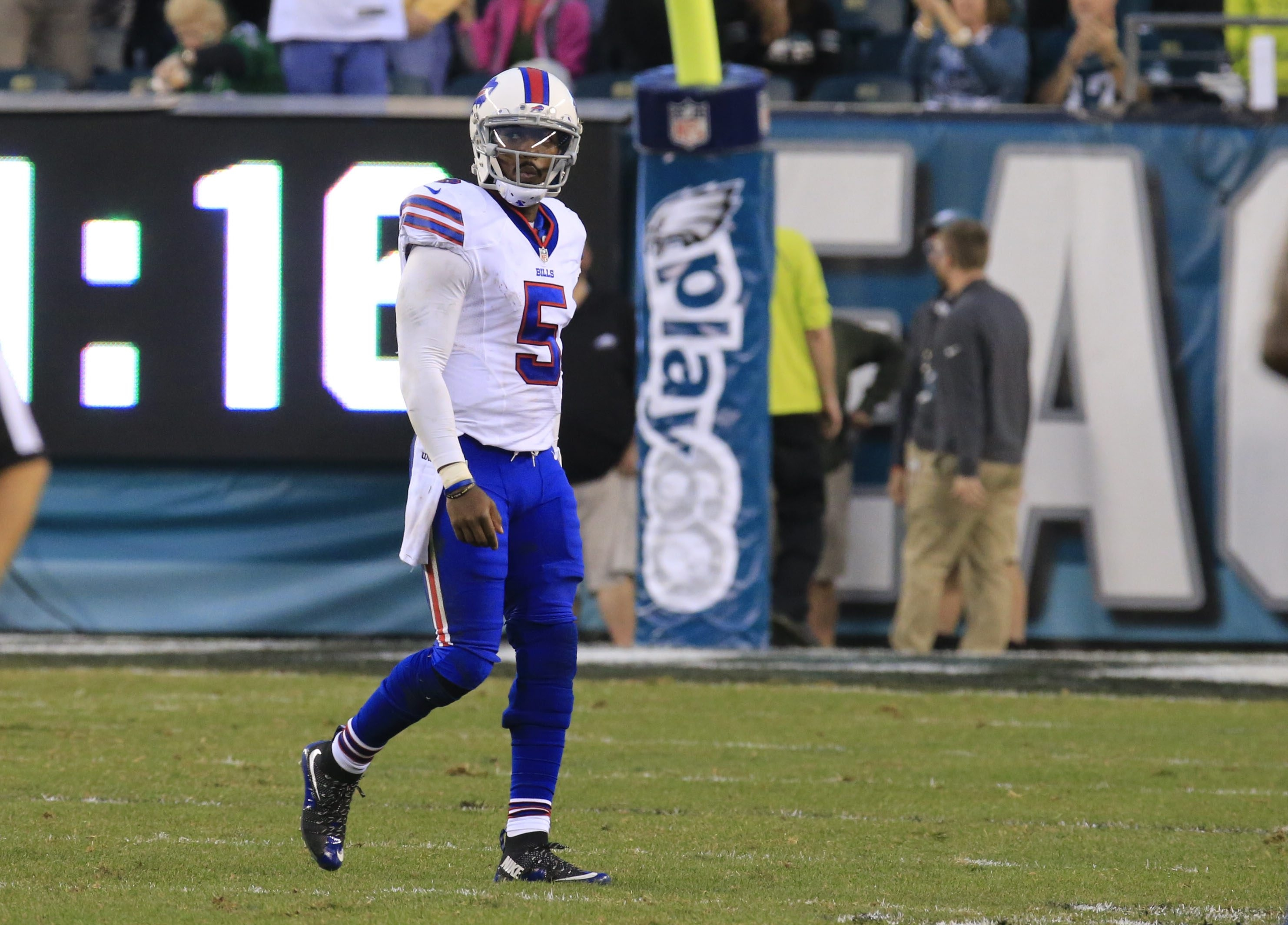 Tyrod Taylor has led the Bills to one fourth-quarter comeback win in five tries, against Tennessee back on Oct. 11.