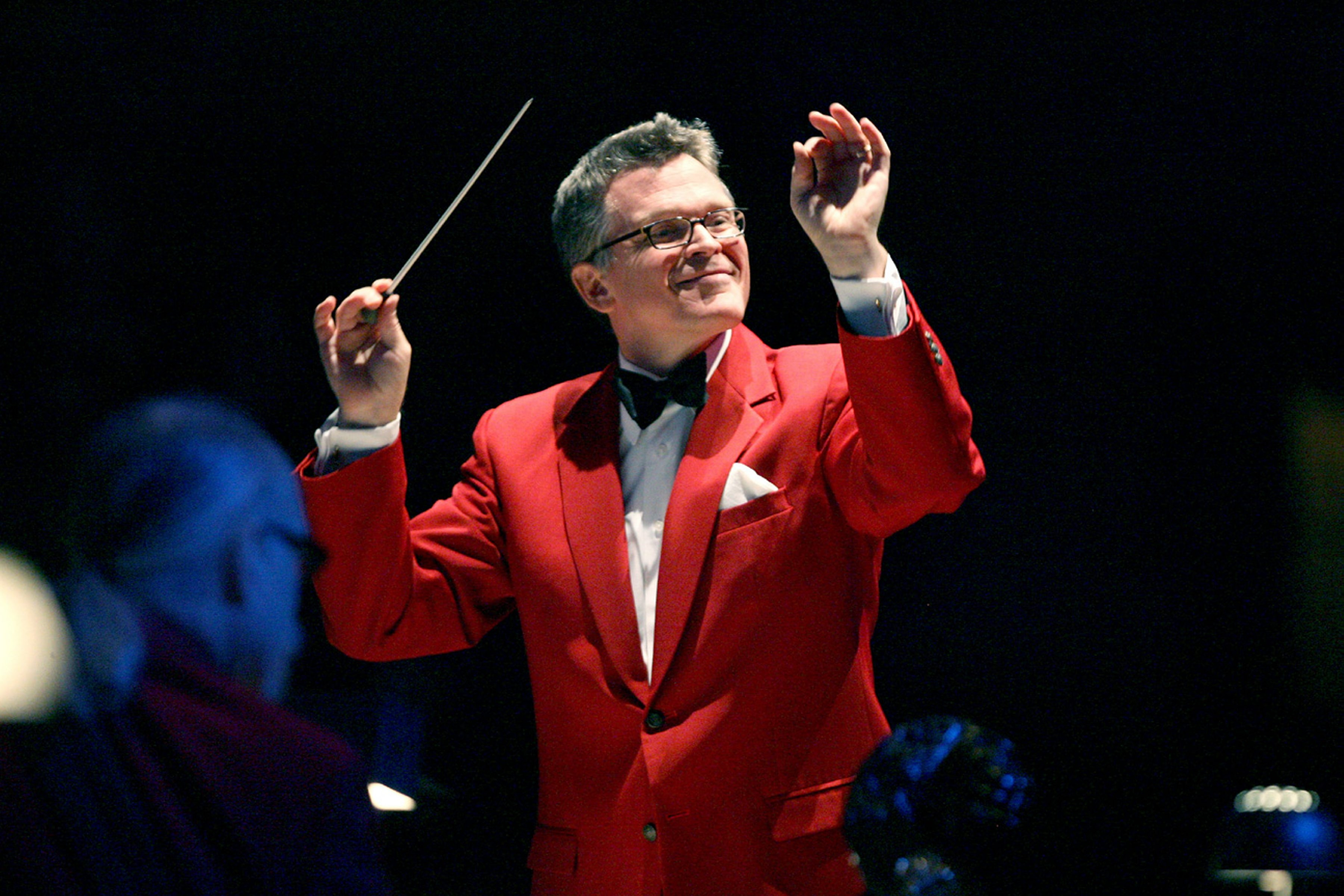 John Morris Russell, principal pops conductor of the BPO, will lead Holiday Pops this weekend.