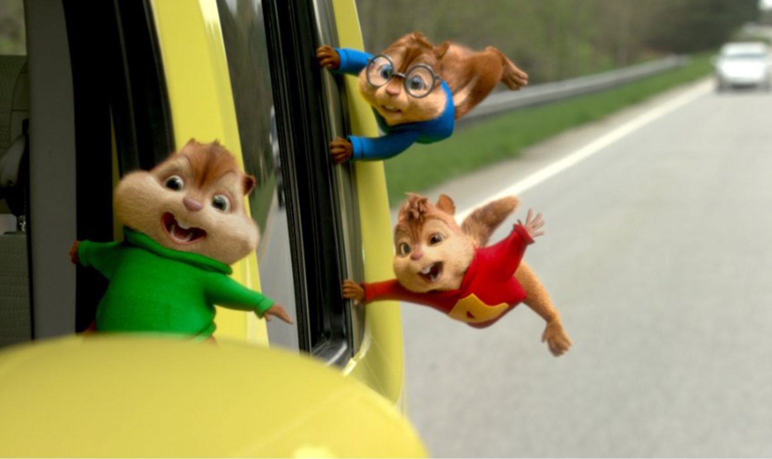 """""""Alvin and the Chipmunks: The Road Chip"""" is purely for the kids."""