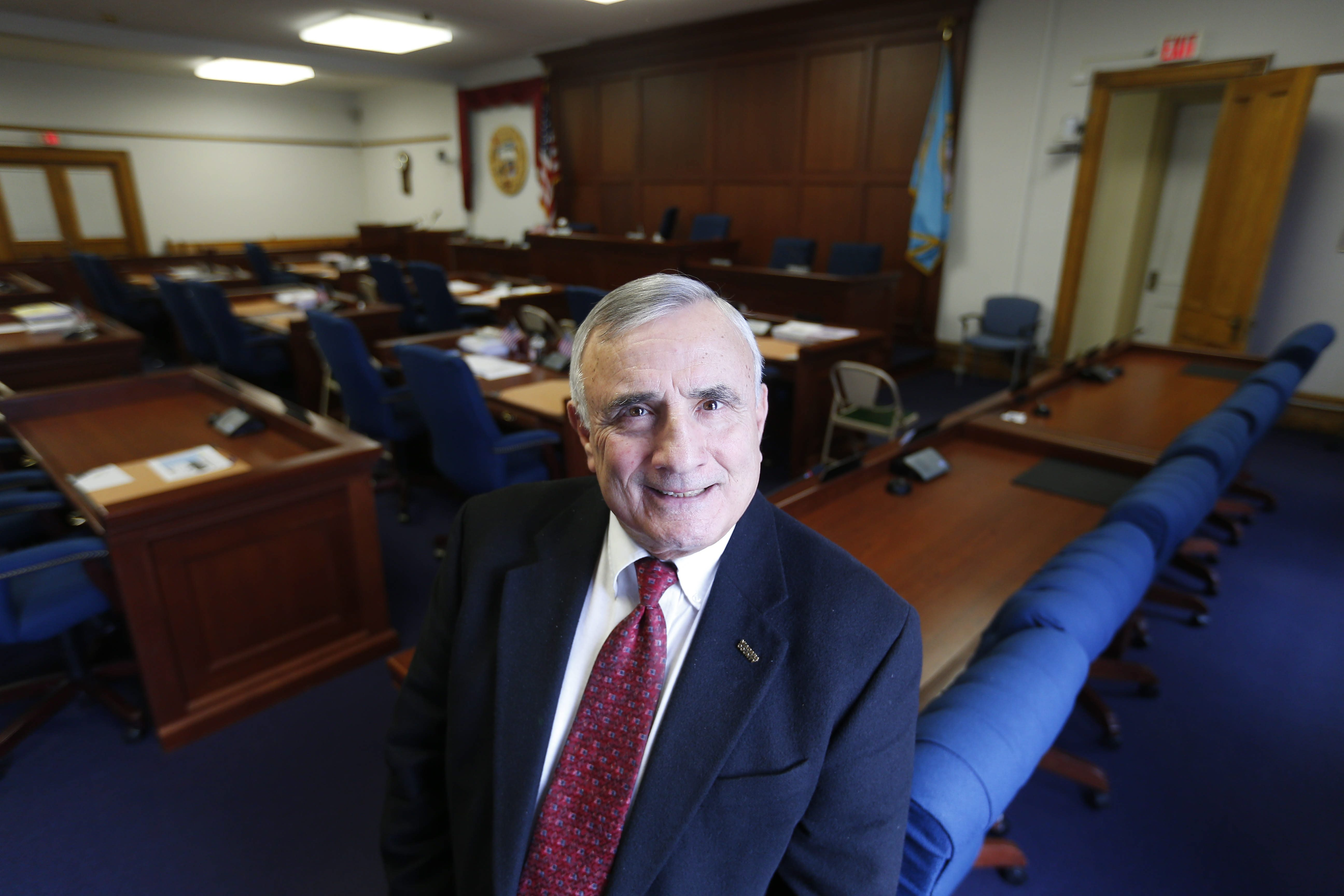 Niagara County Legislature Chairman William L. Ross says his sense of fairness and ability to listen were what earned him leadership positions throughout his 30-year career in elected office.