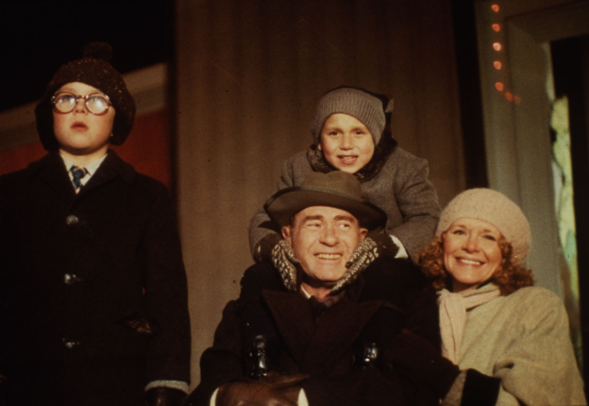 """A scene from """"A Christmas Story,"""" a flop when it was released in 1983."""