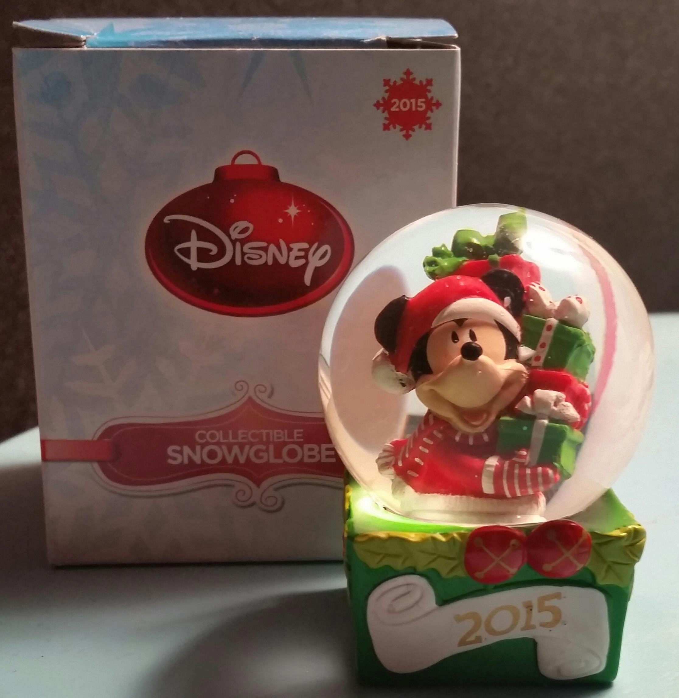 JC Penney stores gave out free Disney snow globes on Black Friday this year.