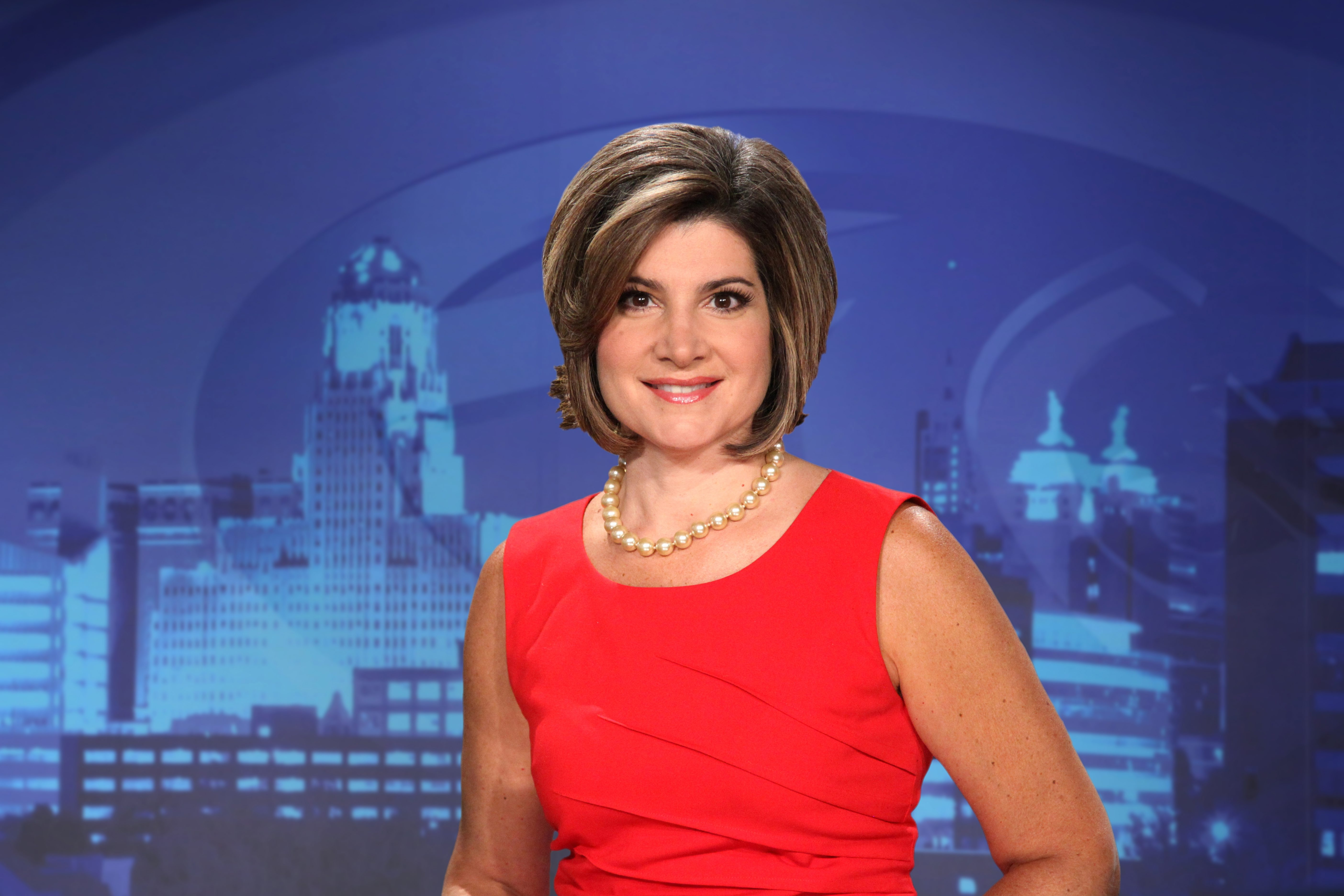 Joanna Pasceri teamed with Keith Radford to form the station's top anchor team.