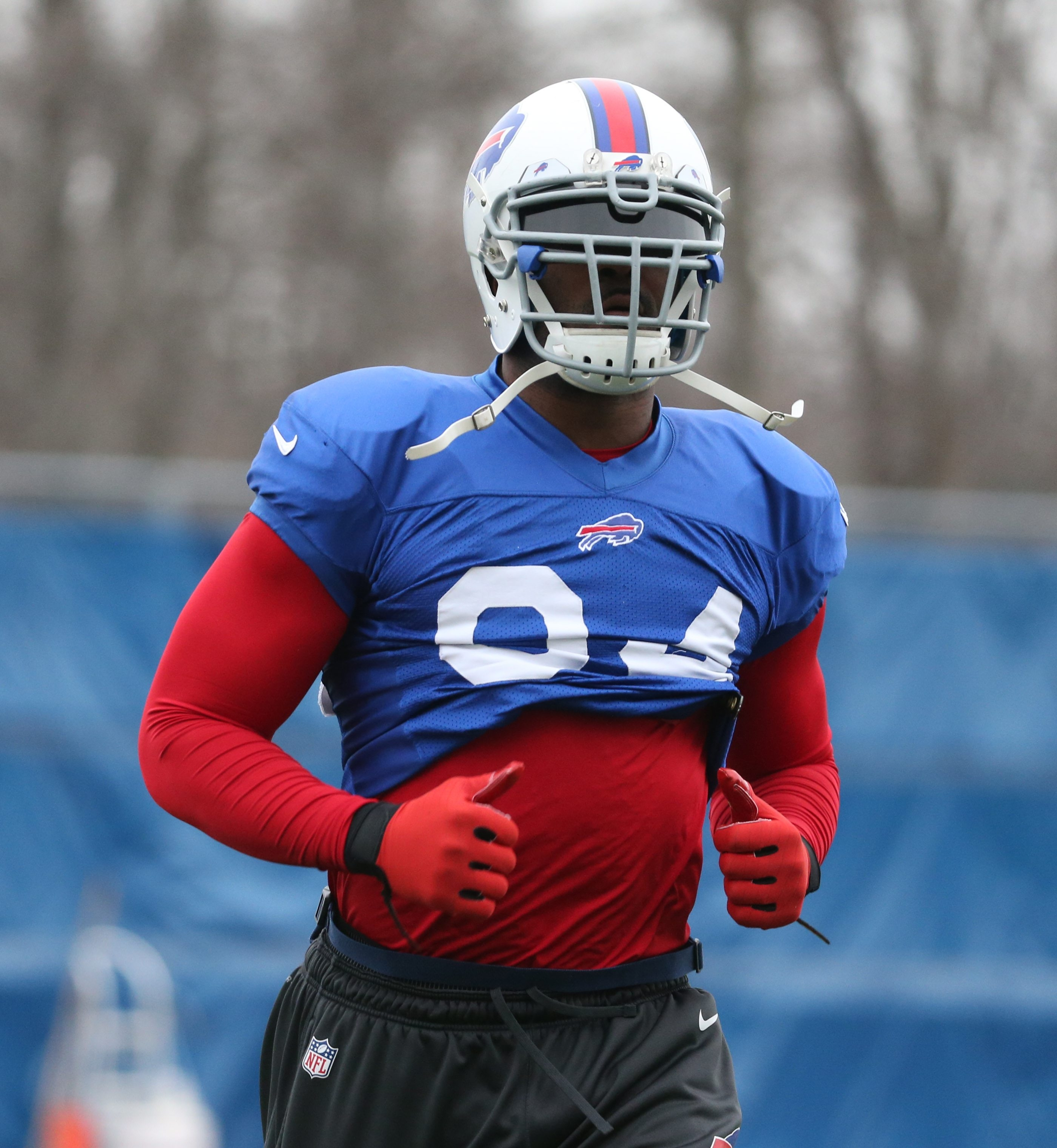 Bills defensive end Mario Williams says he is still getting used to the schemes used by Rex Ryan's coaching staff.