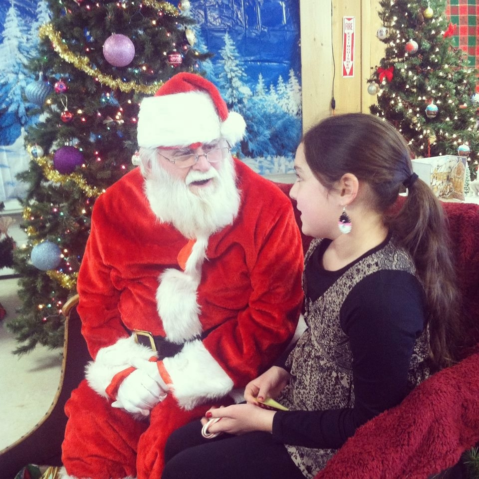 """Santa Claus will once again pay a visit to """"Christmas at the Farm"""" at the Sanborn-Lewiston Farm Museum on Saunders Settlement Road."""