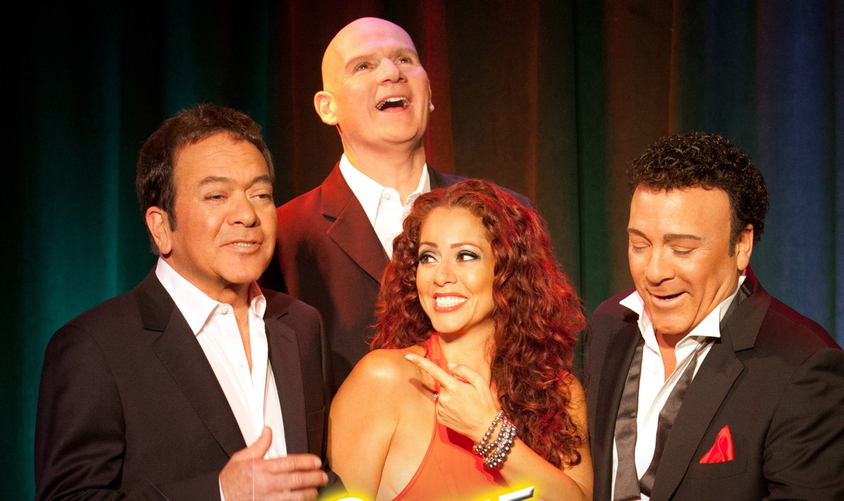 The Scintas – brothers Joe and Frank Scinta, Peter O'Donnell and Janien Valentine – perform Dec. 4 and 5 at the Riviera Theatre.