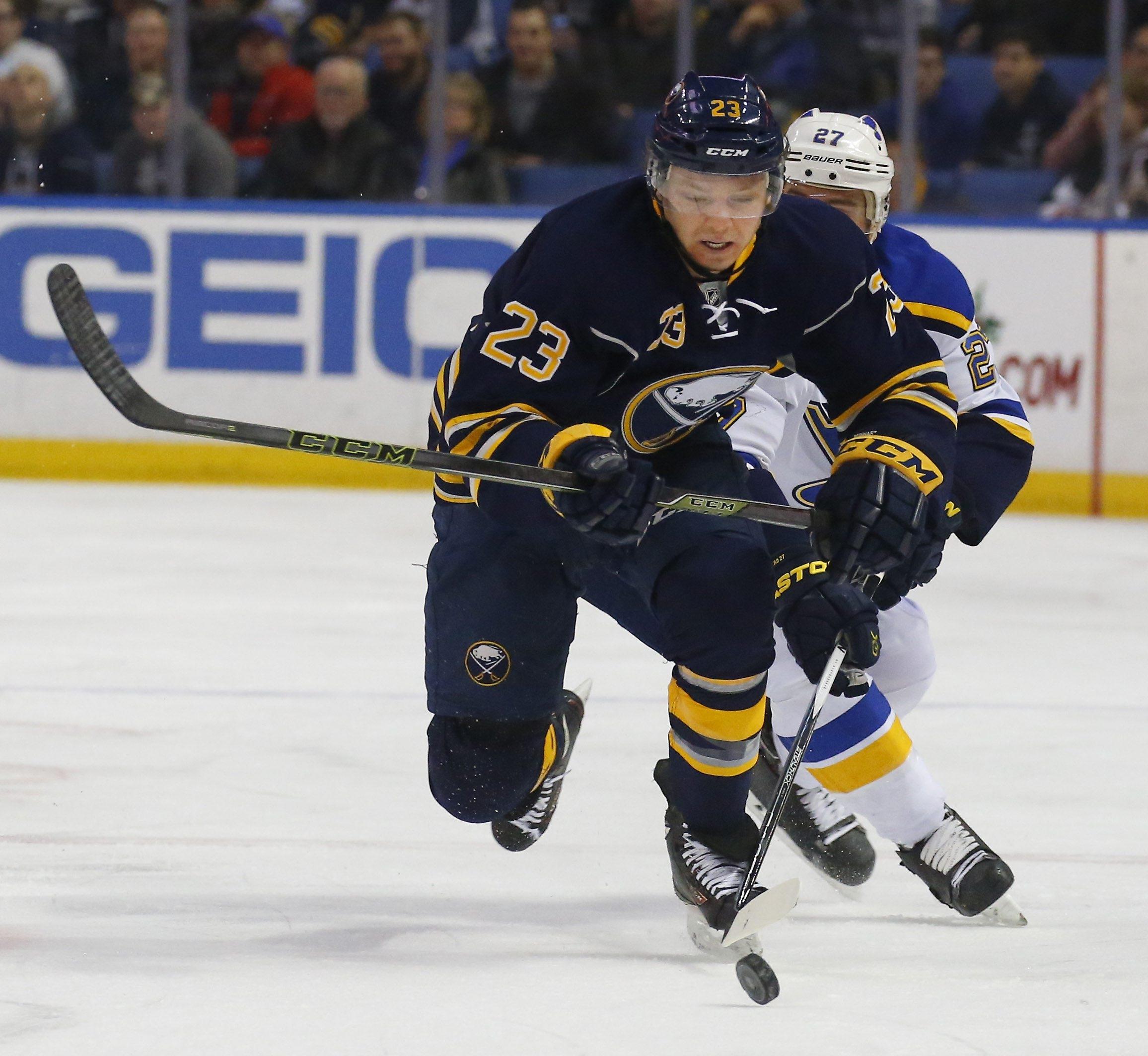 Sam Reinhart is a pretty good rookie, too.  (Buffalo News photo)