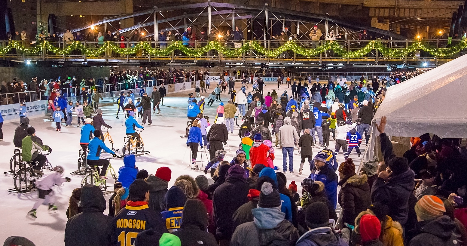 The Ice at Canalside will sparkle on Friday night for the fifth annual Holiday Celebration. (Don Nieman/Special to The News)