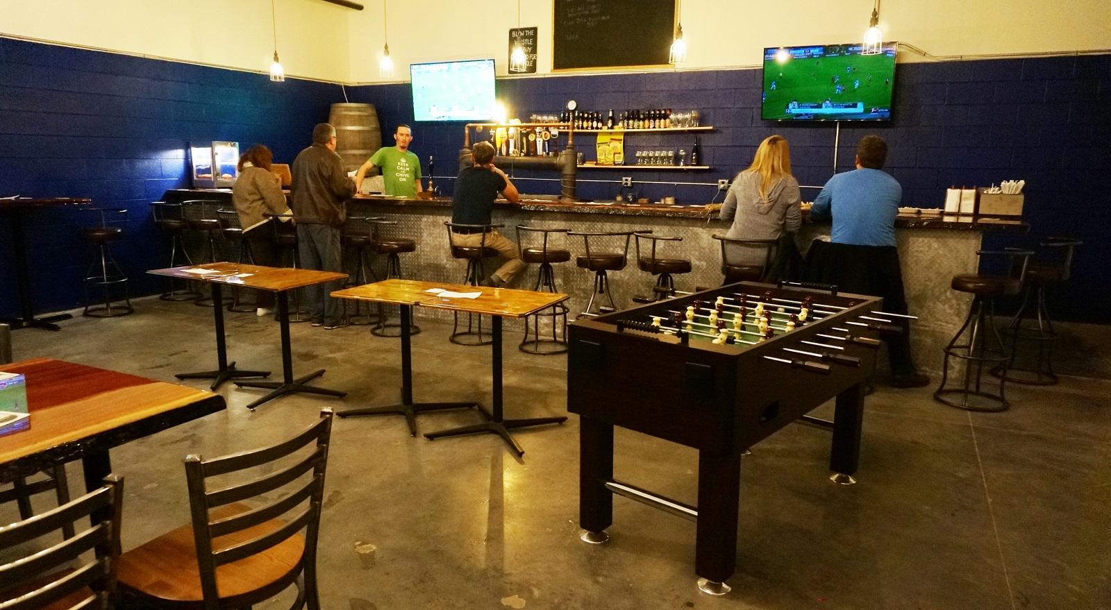 A look inside Parker's newest unveiling, the Pitch Bar. (Joe Popiolkowski/Buffalo News)