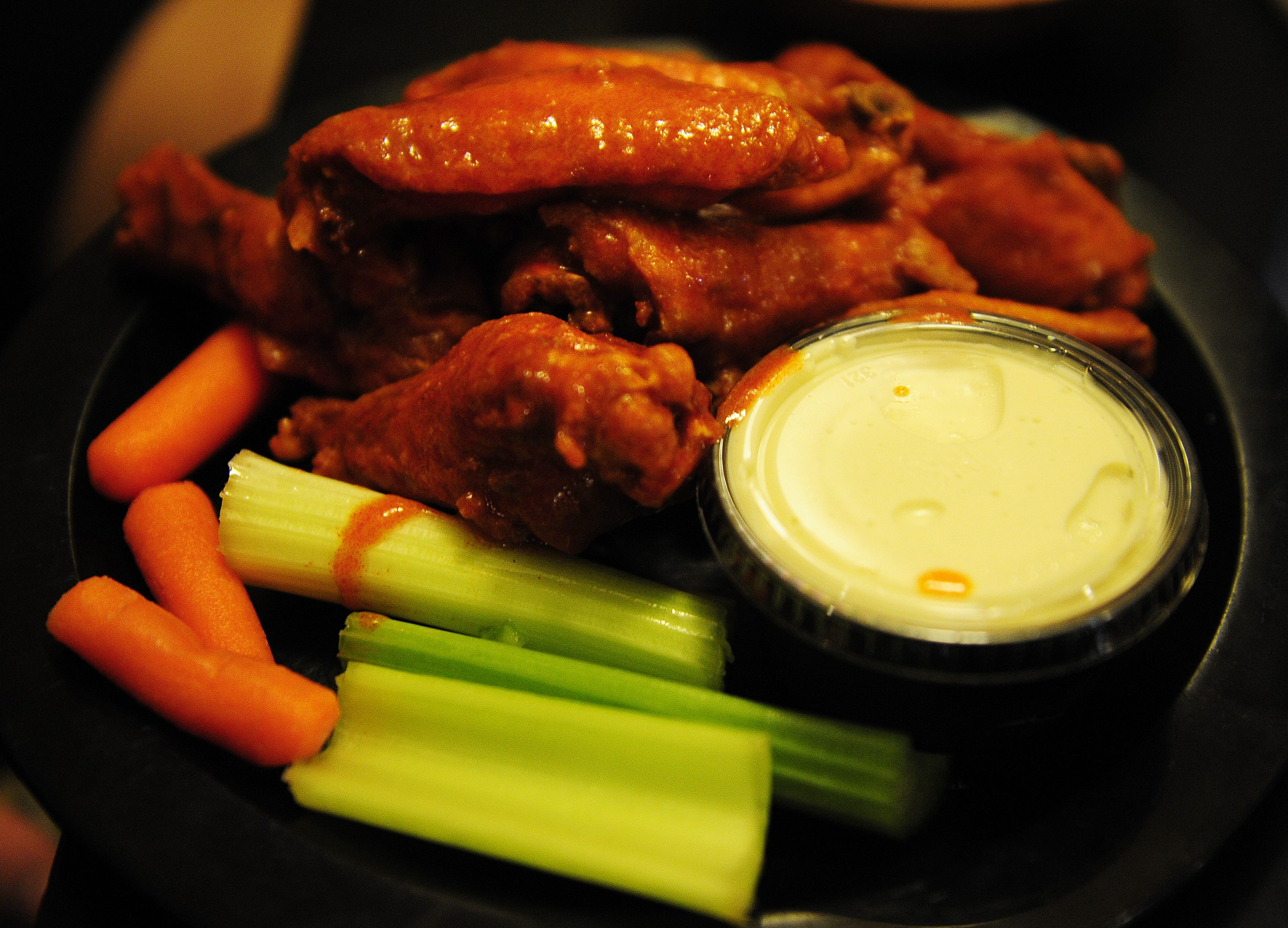 Duff's chicken wings made the Top 10 of 2015 food eaten by Great American Food Bites. (Buffalo News file photo)