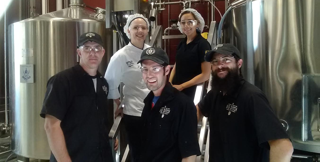 The Pub at Wegmans and Big Ditch Brewing Co. are joining efforts on a special beer. (via Big Ditch Brewing Co.)
