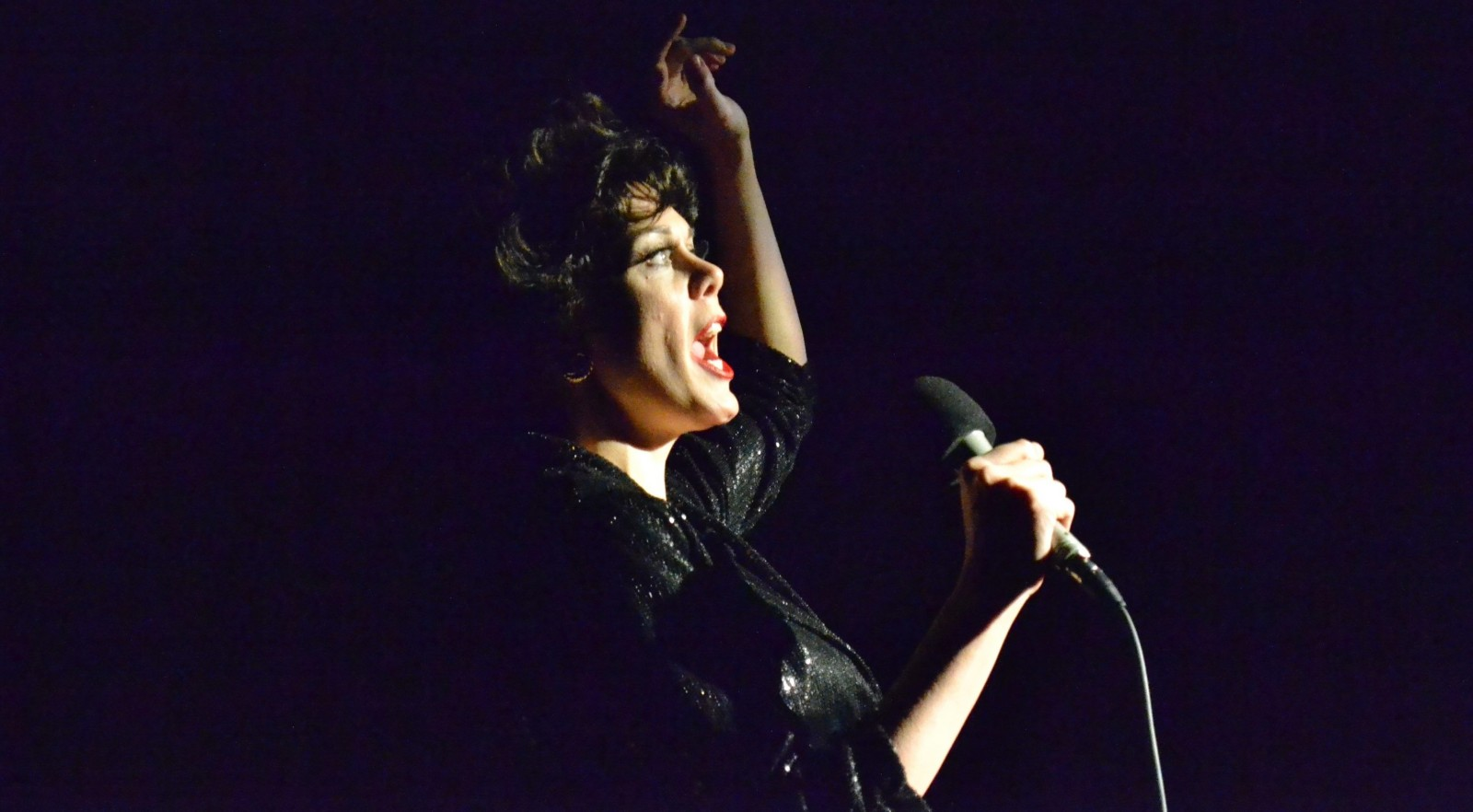 Natasha Drena stars as Judy Garland in the Kavinoky Theatre's production of 'End of the Rainbow.'