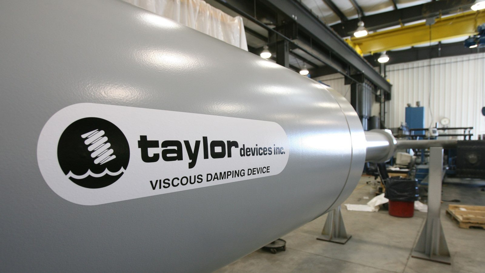 Taylor Devices, spurred by orders for dampers to protect buildings and bridges from quakes, has 32% rise in sales.
