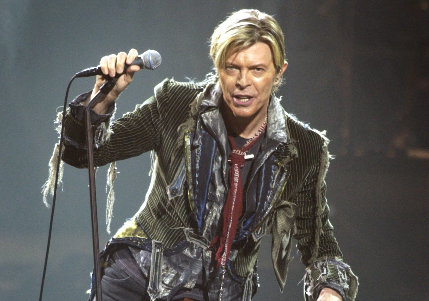 David Bowie performed a sold-out show on May 25, 2004, at Shea's Performing Arts Center. (Buffalo News file photo)
