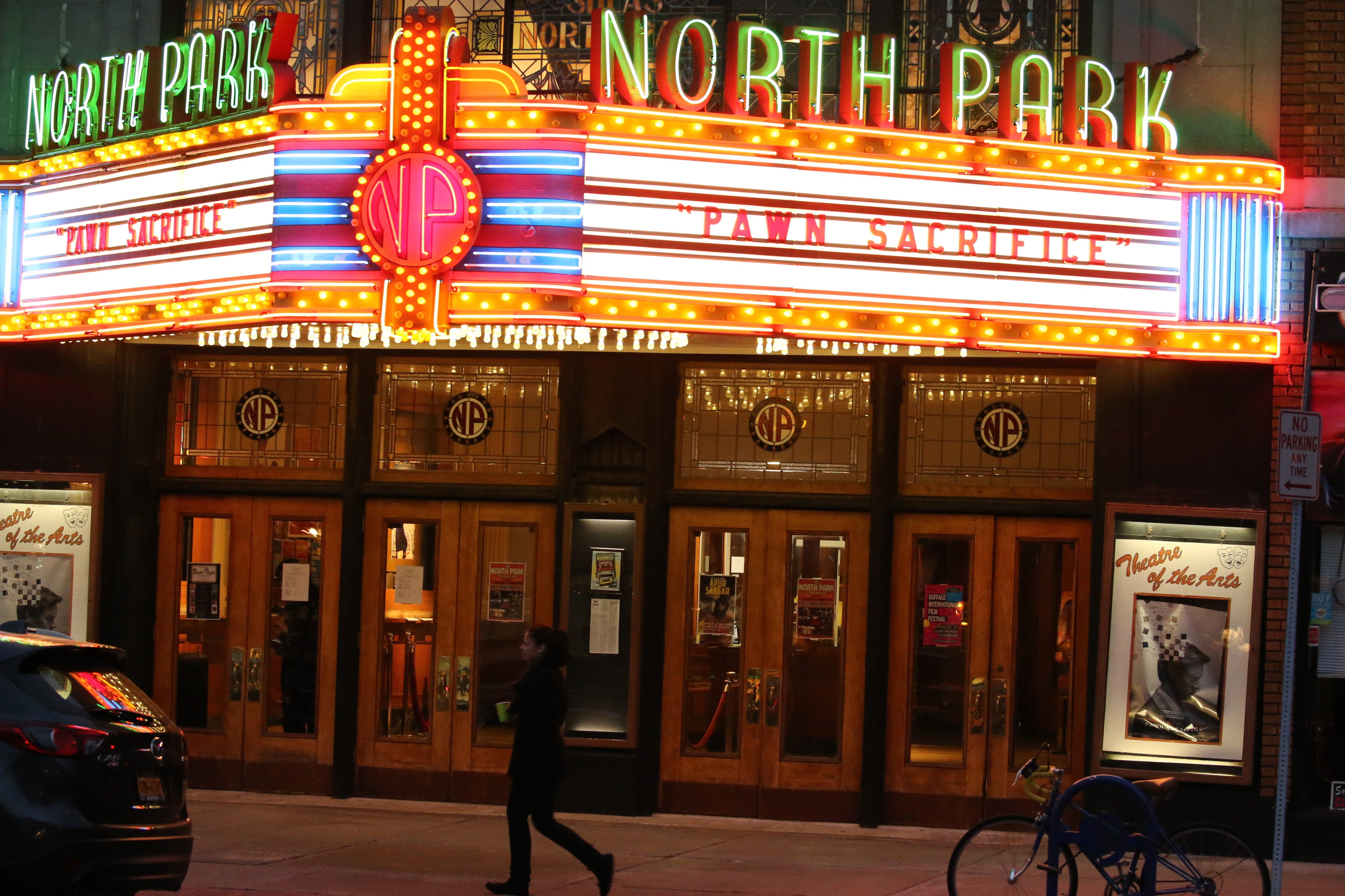 It's impossible to talk about Hertel Avenue without talking about the North Park Theatre. (John Hickey/News file photo)