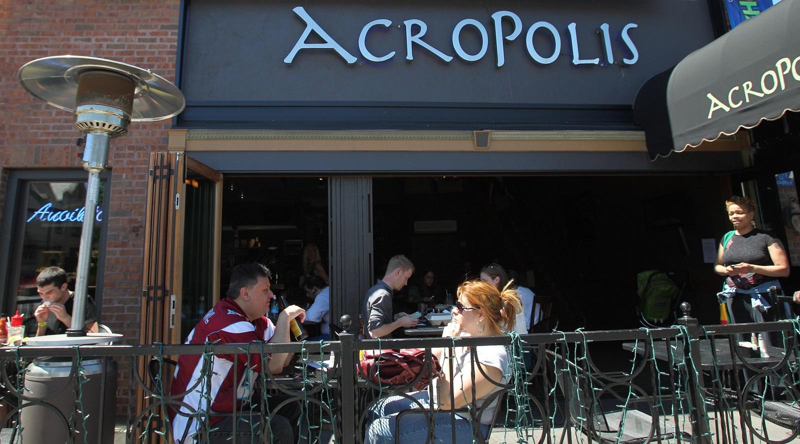 Acropolis' menu will change to become more Greek-centric. (Sharon Cantillon/Buffalo News)