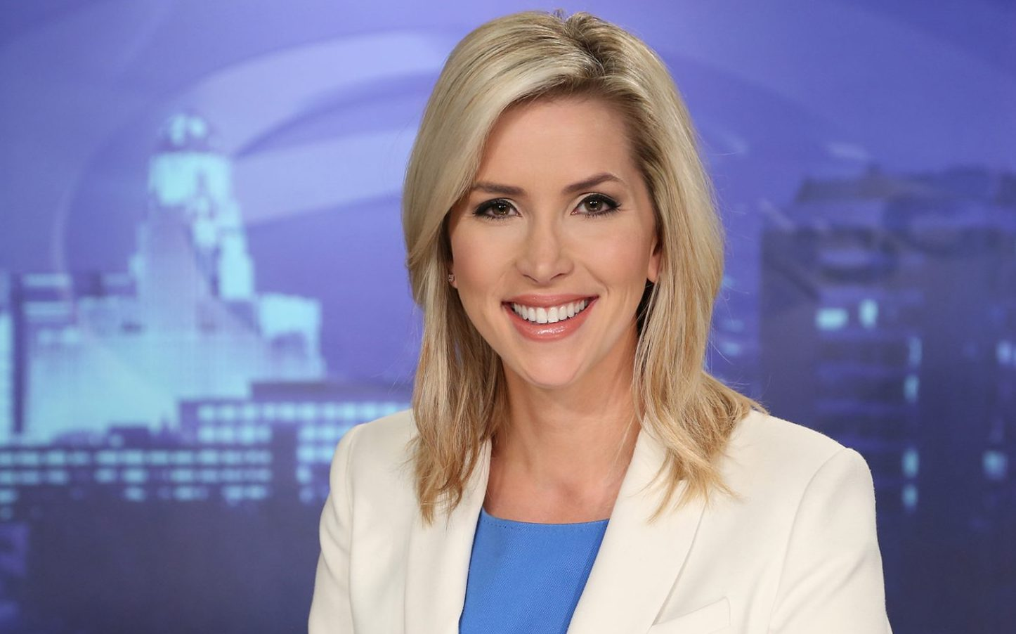 Channel 7's Ashley Rowe takes a stand in support of Meryl Streep. (Ch.7 photo)