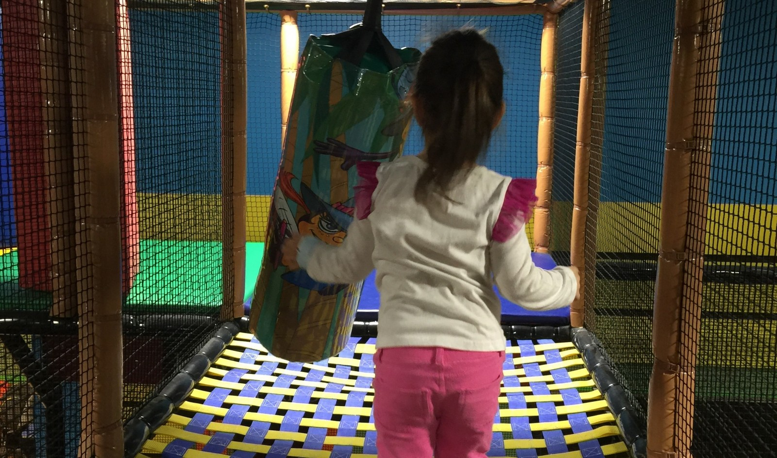 Kids can run and play all day at Billy Beez in the Walden Galleria. (Photo by Mary Friona-Celani)