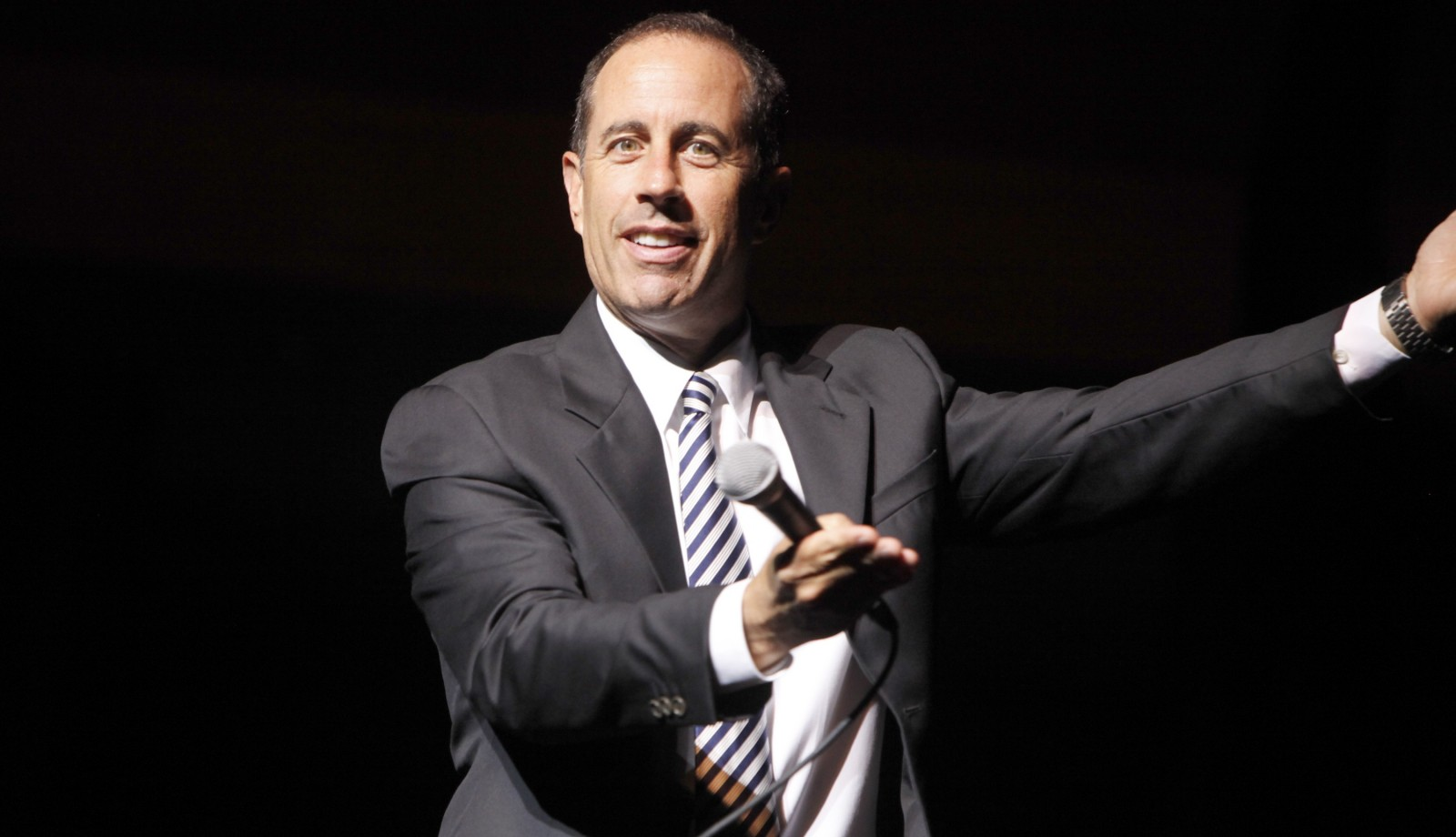 Jerry Seinfeld returns to perform two sold-out shows in Shea's Performing Arts Center.