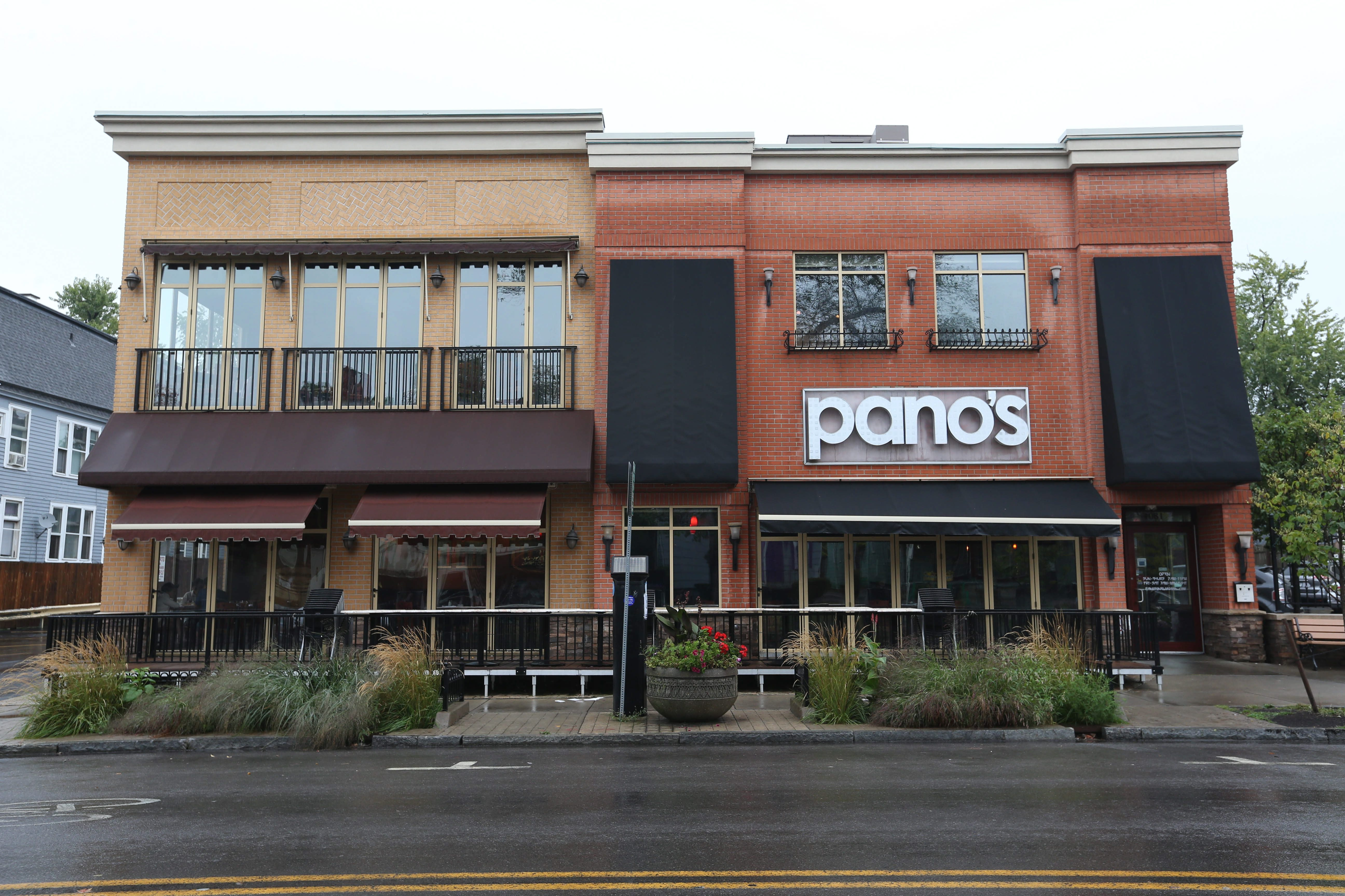 Pano's at 1081 Elmwood Avenue followed the trend of other local formerly-24-hour restaurants. (Sharon Cantillon/Buffalo News)