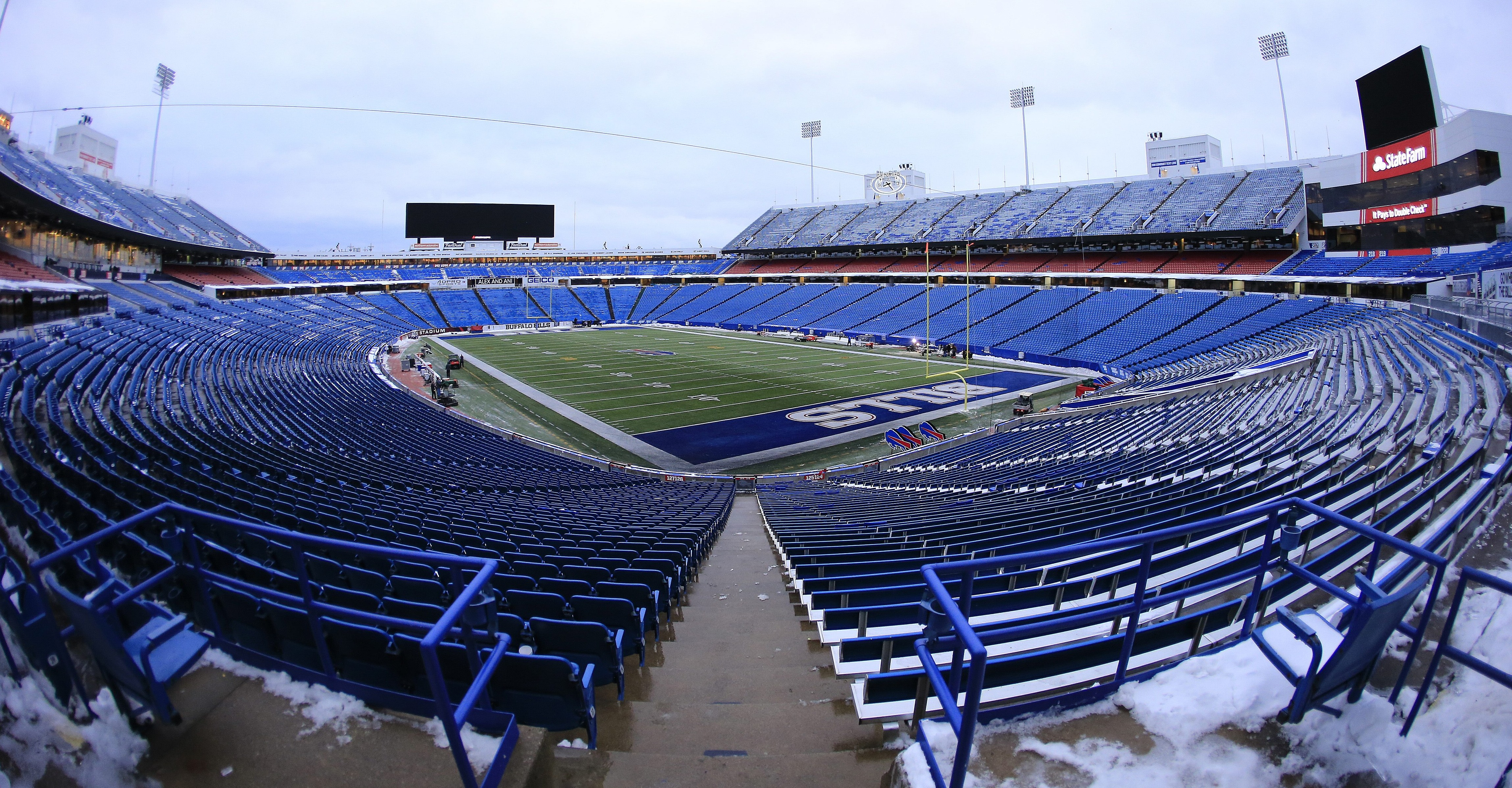 The Bills appear to be happy with their current home in Orchard Park. (Harry Scull Jr./News file photo)