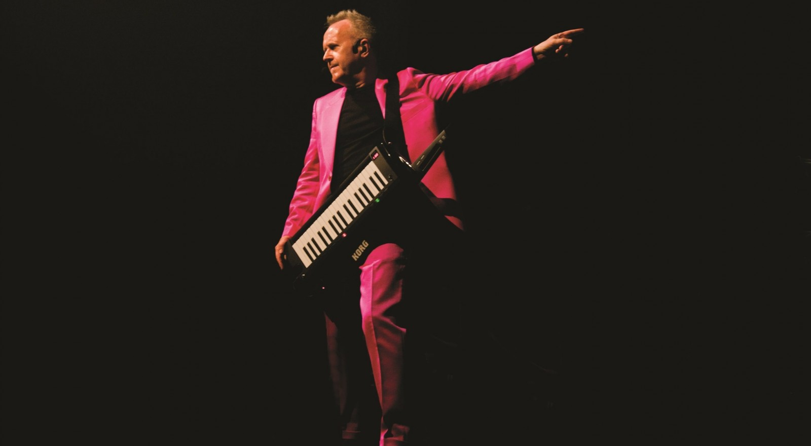"""Howard Jones will join OMD and Barenaked Ladies as part of the """"Last Summer on Earth Tour"""" at Artpark in June."""