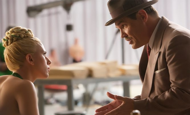 "Scarlett Johansson and Josh Brolin star in ""Hail, Caesar!"""