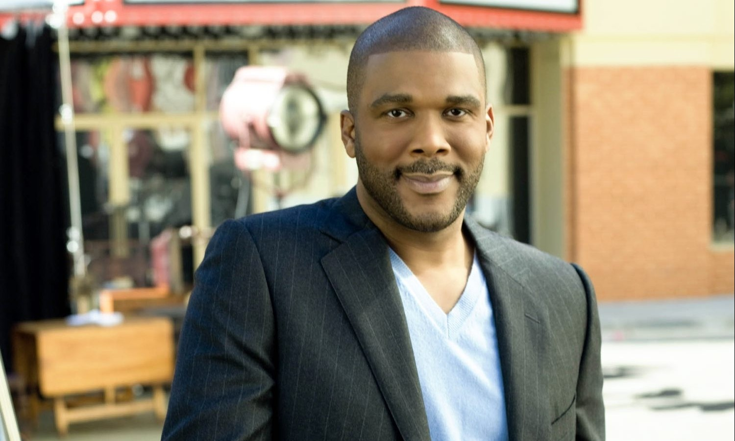 Tyler Perry, pictured, and Madea will stop by Shea's.