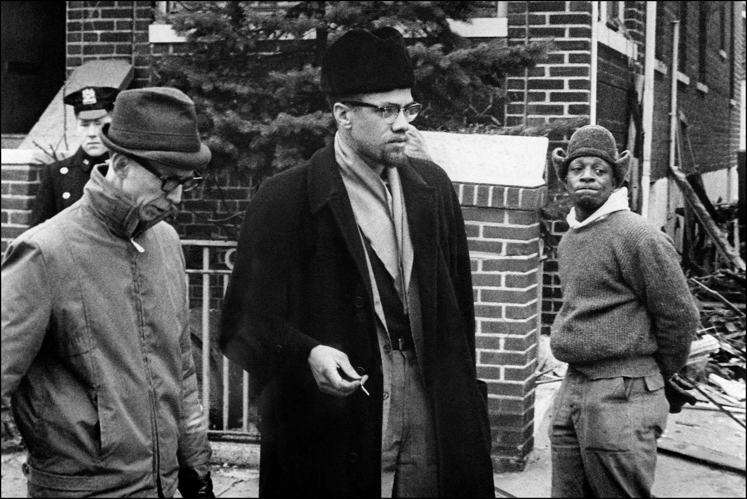 """""""El Hajj Malik,"""" a play about Malcolm X, will be on stage  in the Alleyway Theatre."""