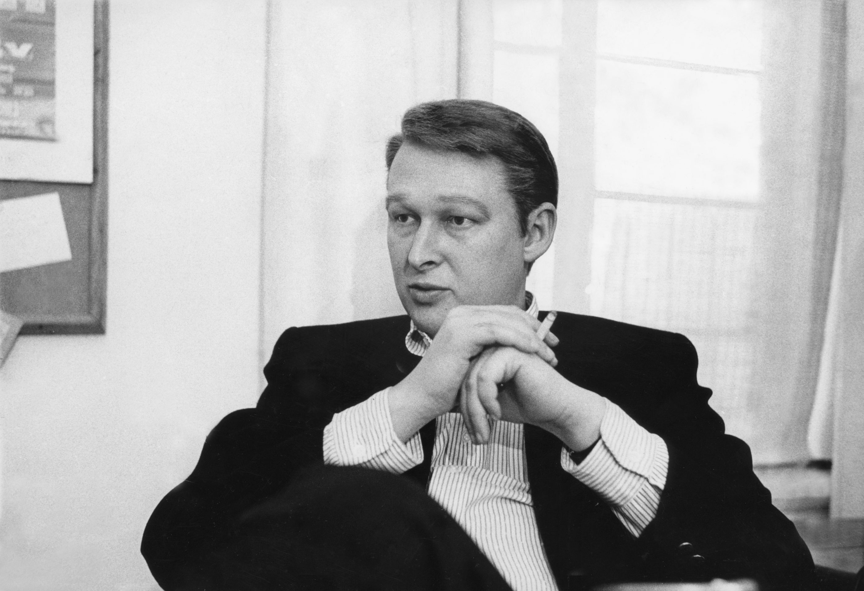 """In HBO's """"Becoming Mike Nichols,"""" the late director discusses his career, mainly the early years. Above, Nichols is pictured in 1966, the year he directed Richard Burton and Elizabeth Taylor in """"Who's Afraid of Virginia Woolf?"""""""