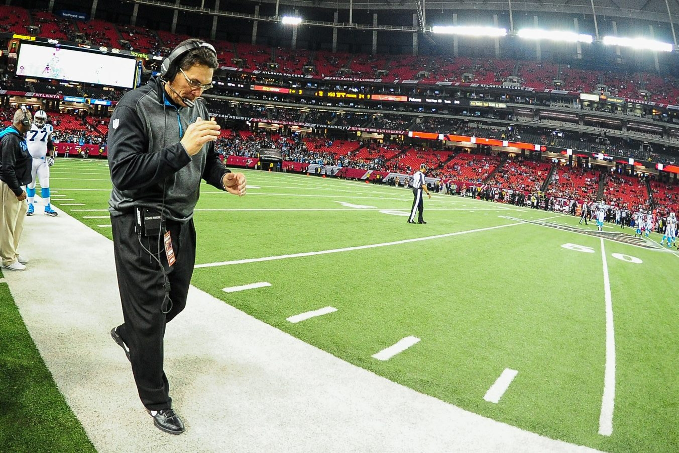 Carolina head coach Ron Rivera enourages his players to be honest and true to themselves. (Getty Images)