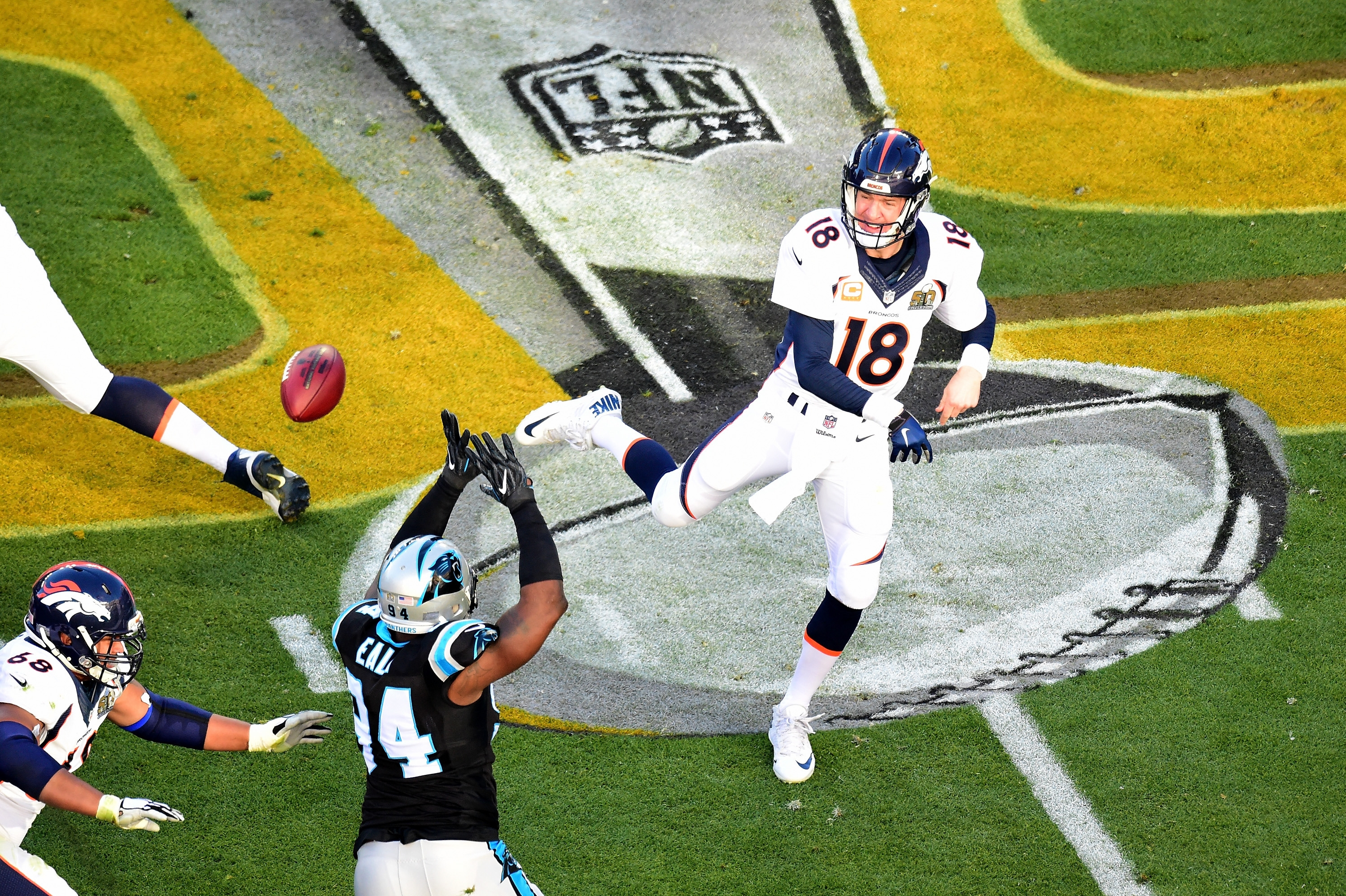 Peyton Manning's numbers for Super Bowl 50 were awful, but he became the 12th quarterback to win multiple Super Bowls.