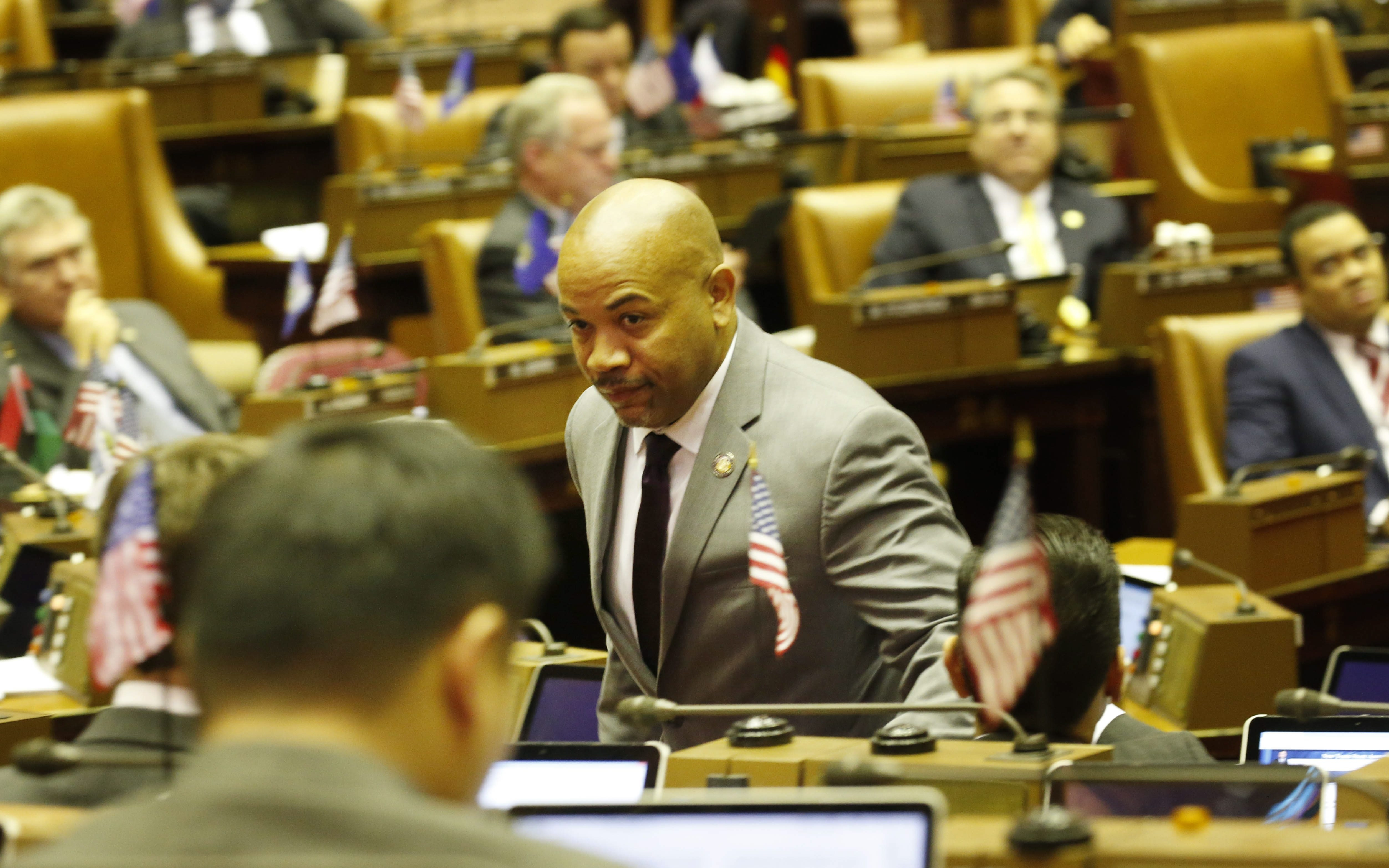 "Speaker Carl Heastie called the Assembly plan an effort to create a ""fair and progressive tax structure."""