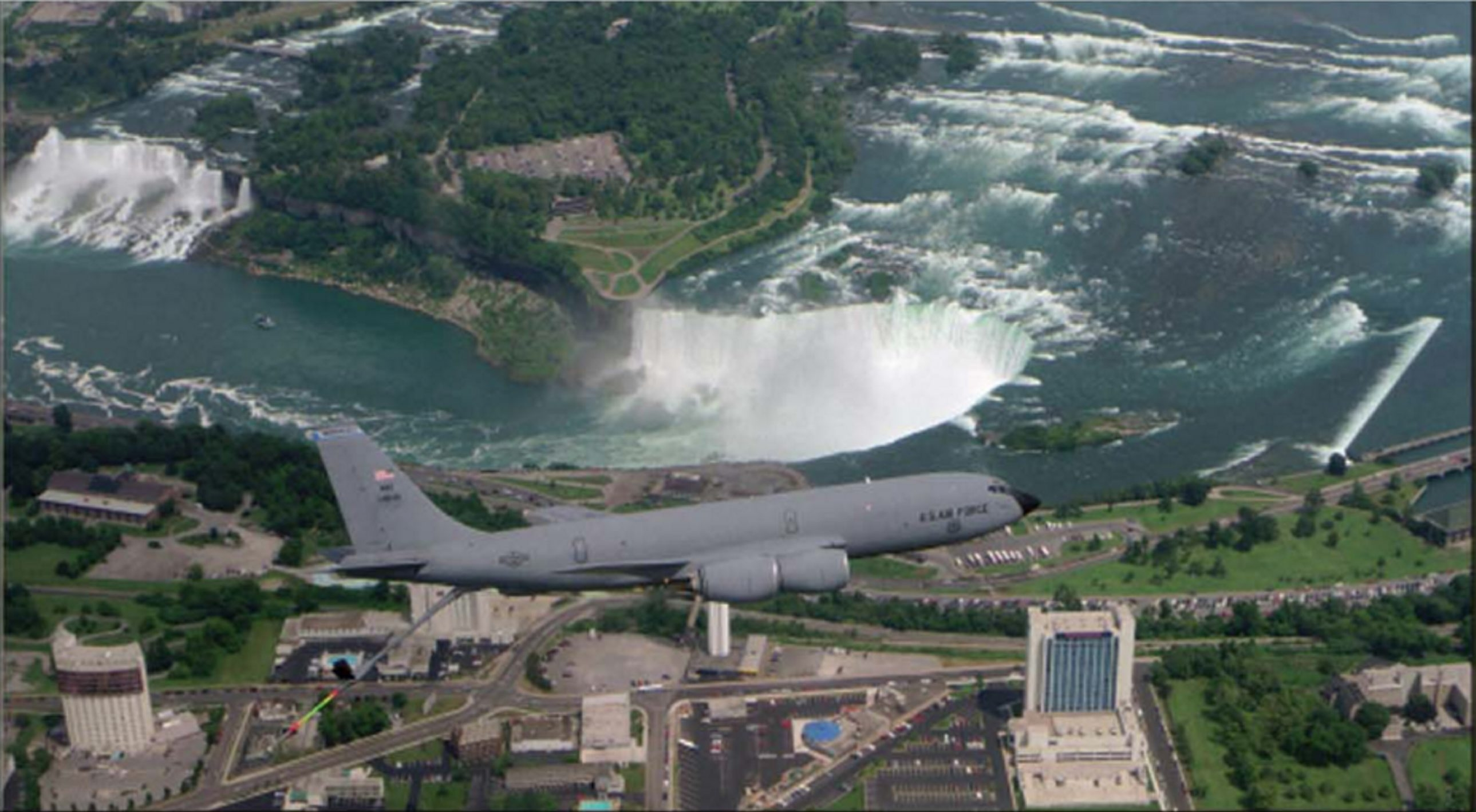 The 914th Airlift Wing at the Niagara Falls Air Reserve Station will begin flying KC-135 refueling tankers.