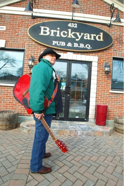 Singer-songwriter Dale Campbell hosts Toast & Jam at the Brickyard in Lewiston. The sessions are open to all singers, musicians, comics and other performers.