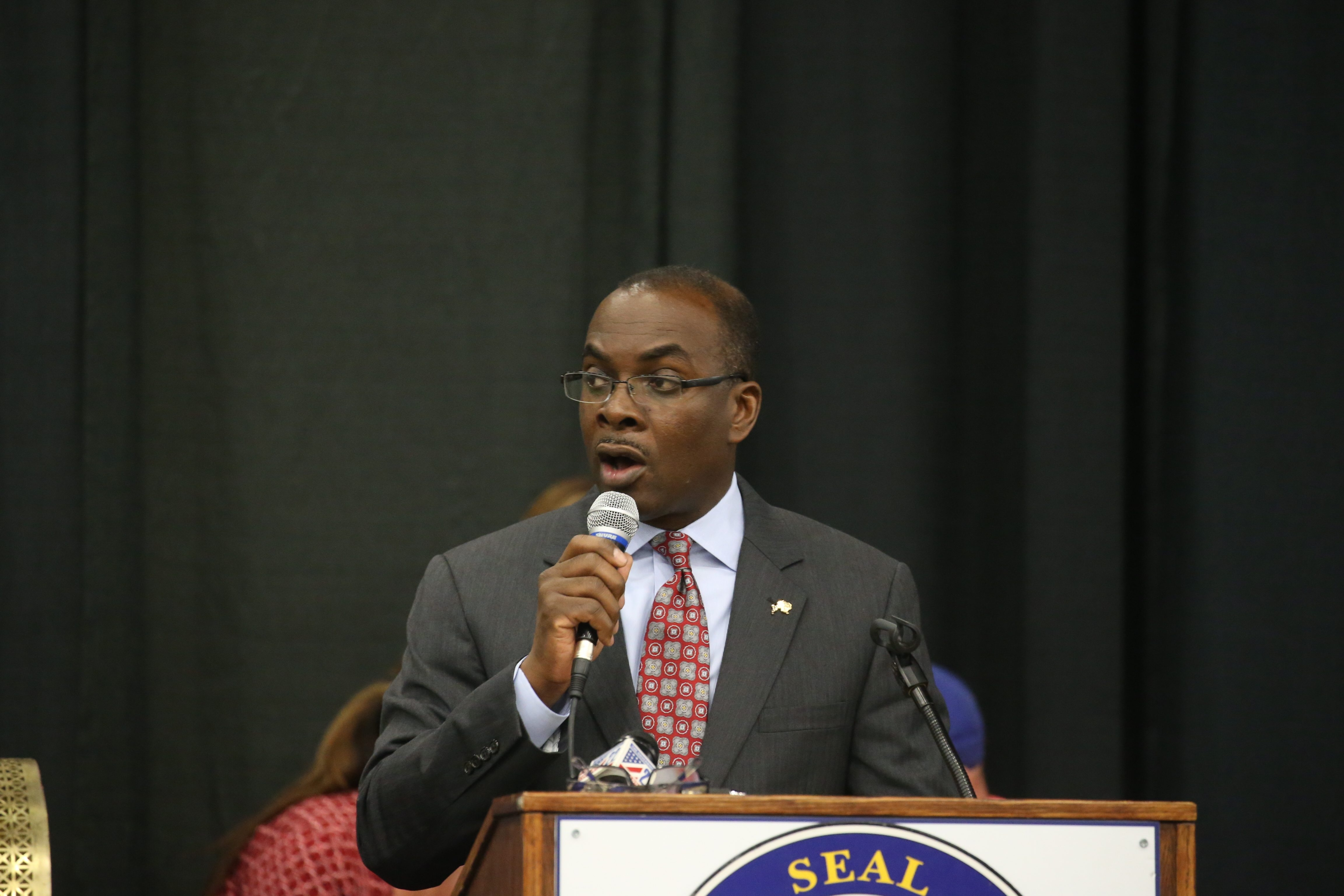 Mayor Byron Brown said in last year's State of the City address that property taxes would be frozen and they were. (John Hickey/Buffalo News file photo)