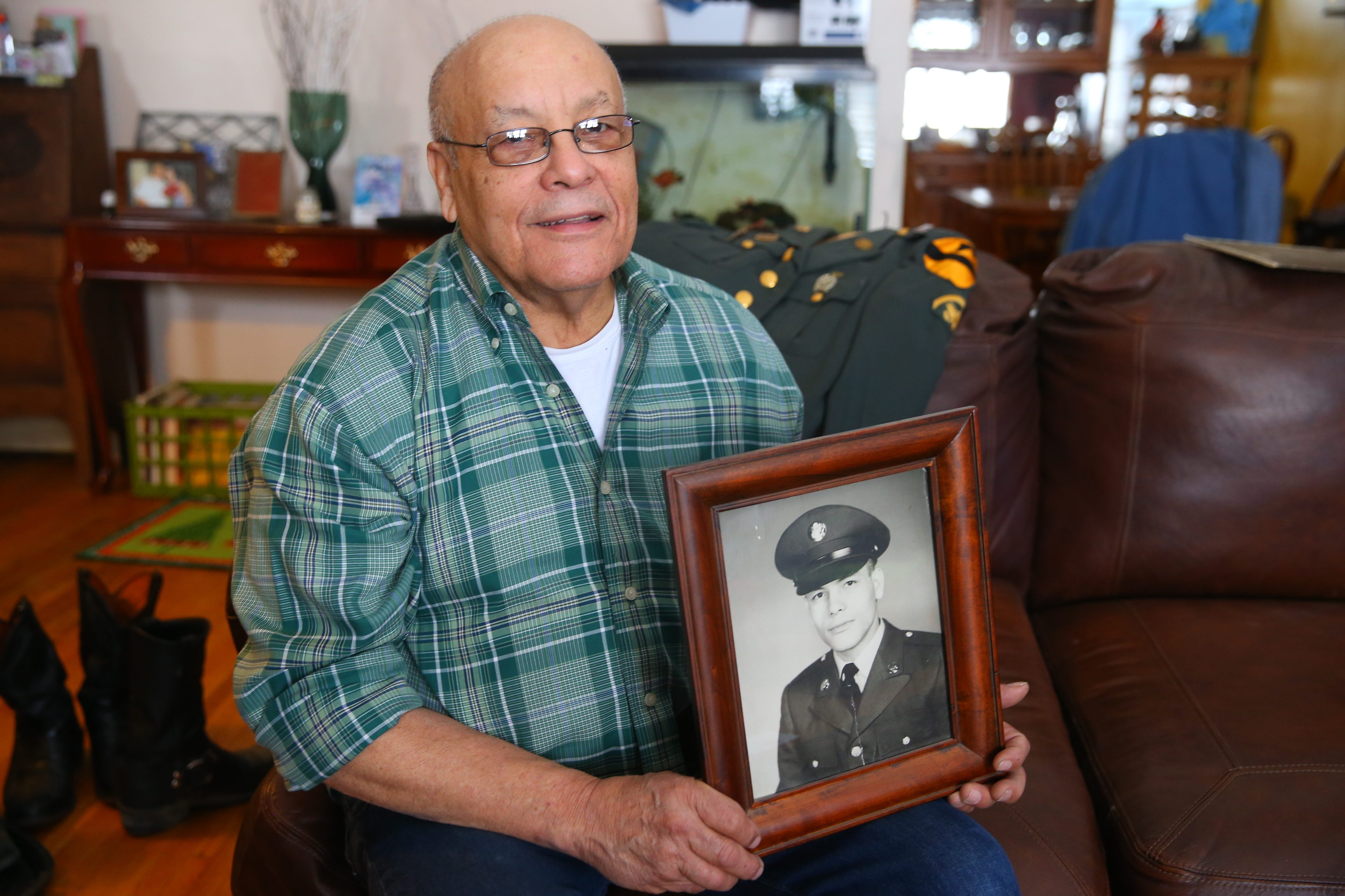 Roberto Becerril recalls that as a medic in Vietnam, the hospi- tal tent became a target of mortar rounds and small-arms fire.