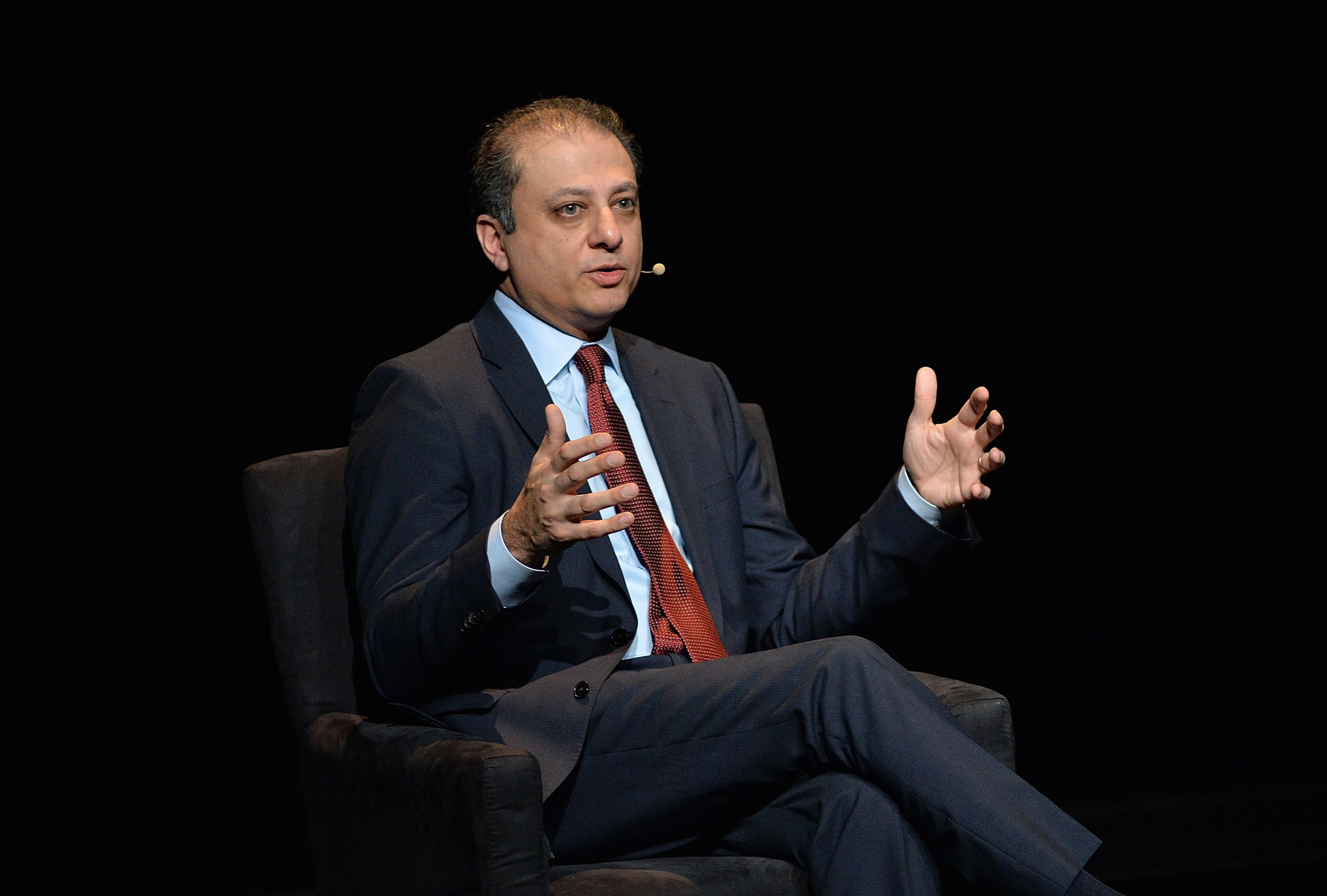 Preet Bharara's impact on Albany has been deep, not the least of which is the leadership change his criminal probe of Sheldon Silver and Dean Skelos forced upon the Senate and Assembly. (Getty Images)