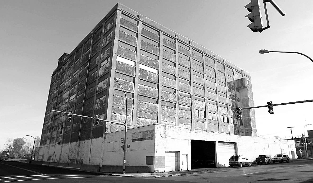 The former A&P warehouse, 545 Swan St., has been targeted for redevelopment.