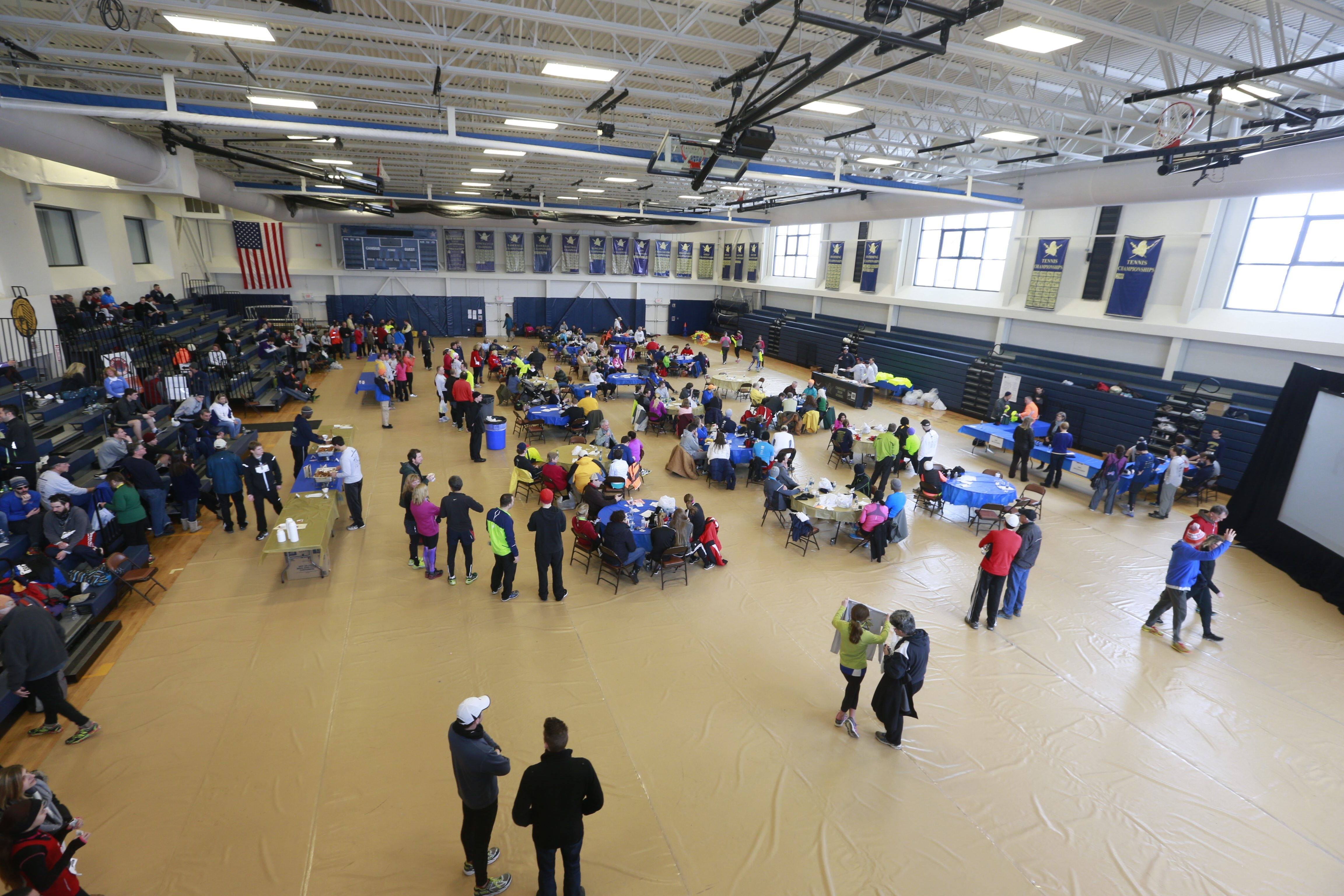 Everyone eats chili at the Chilly Challenge at Canisius High School. This year, though, they'll be doing it earlier than usual.