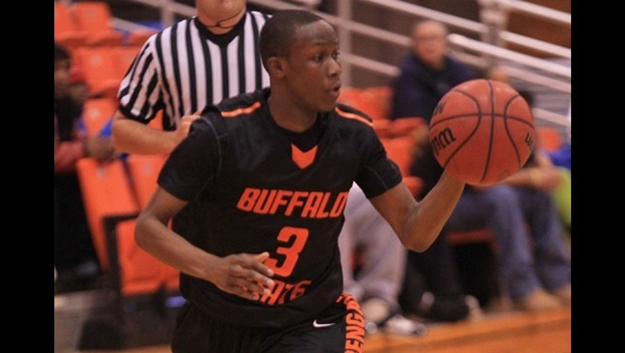 SUNY Buffalo State senior Bradley D'Oyley, shown on the Bengals basketball team from the 2013-14 season, has died.