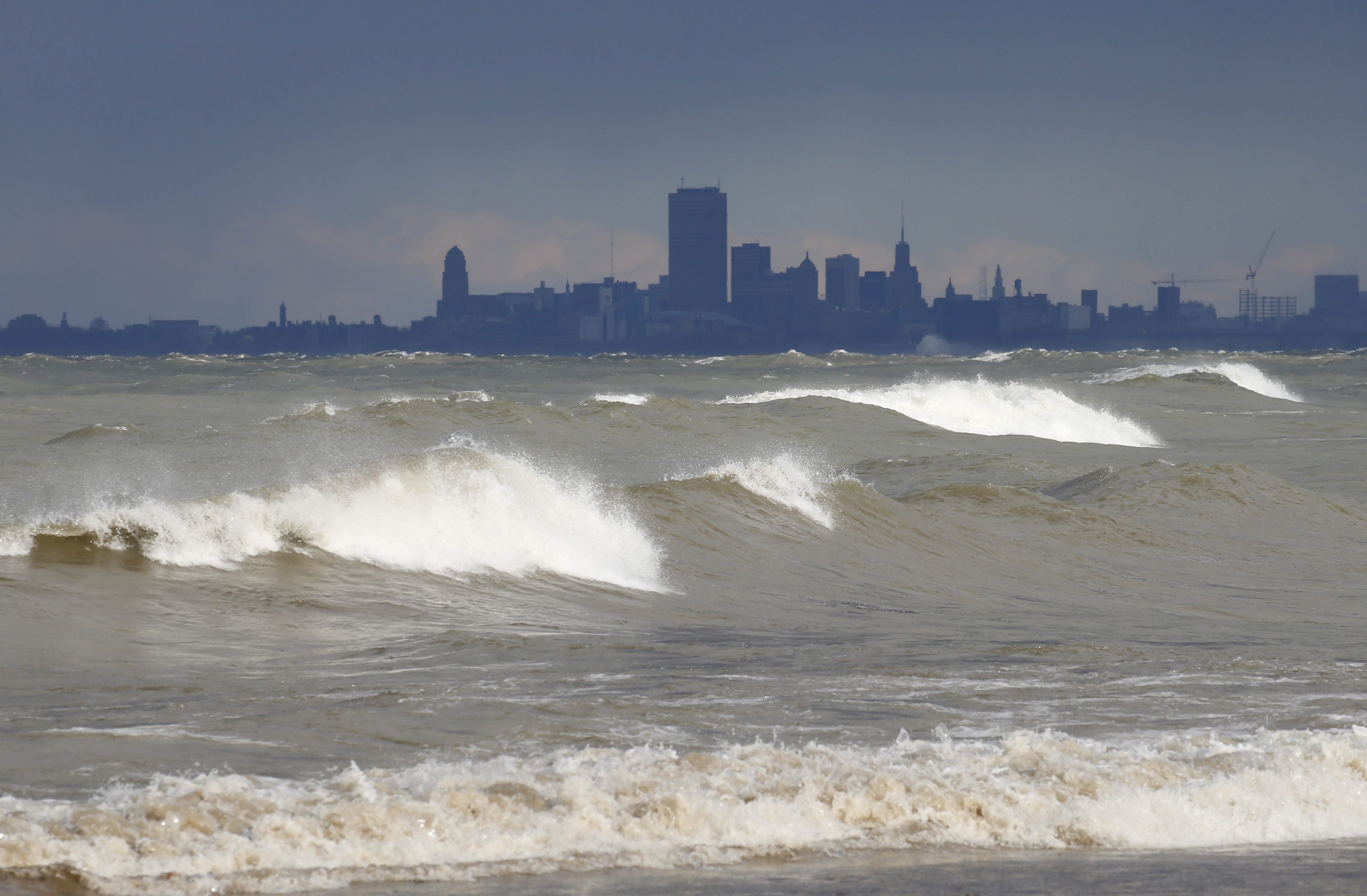 Diverting water from any of the Great Lakes could set a precedent over a compact designed to protect the quality and quantity of the world's largest fresh water supply. (Mark Mulville/News file photo)