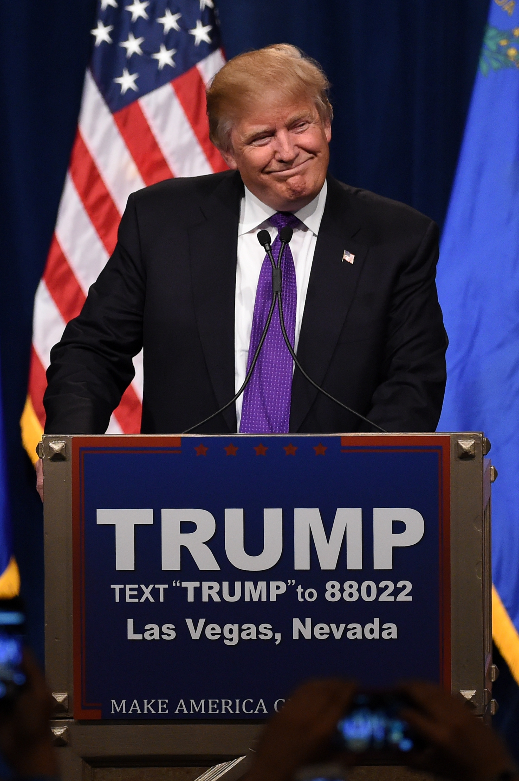 Donald Trump, after winning Nevada caucuses big, has solidified position as Republican presidential front-runner.