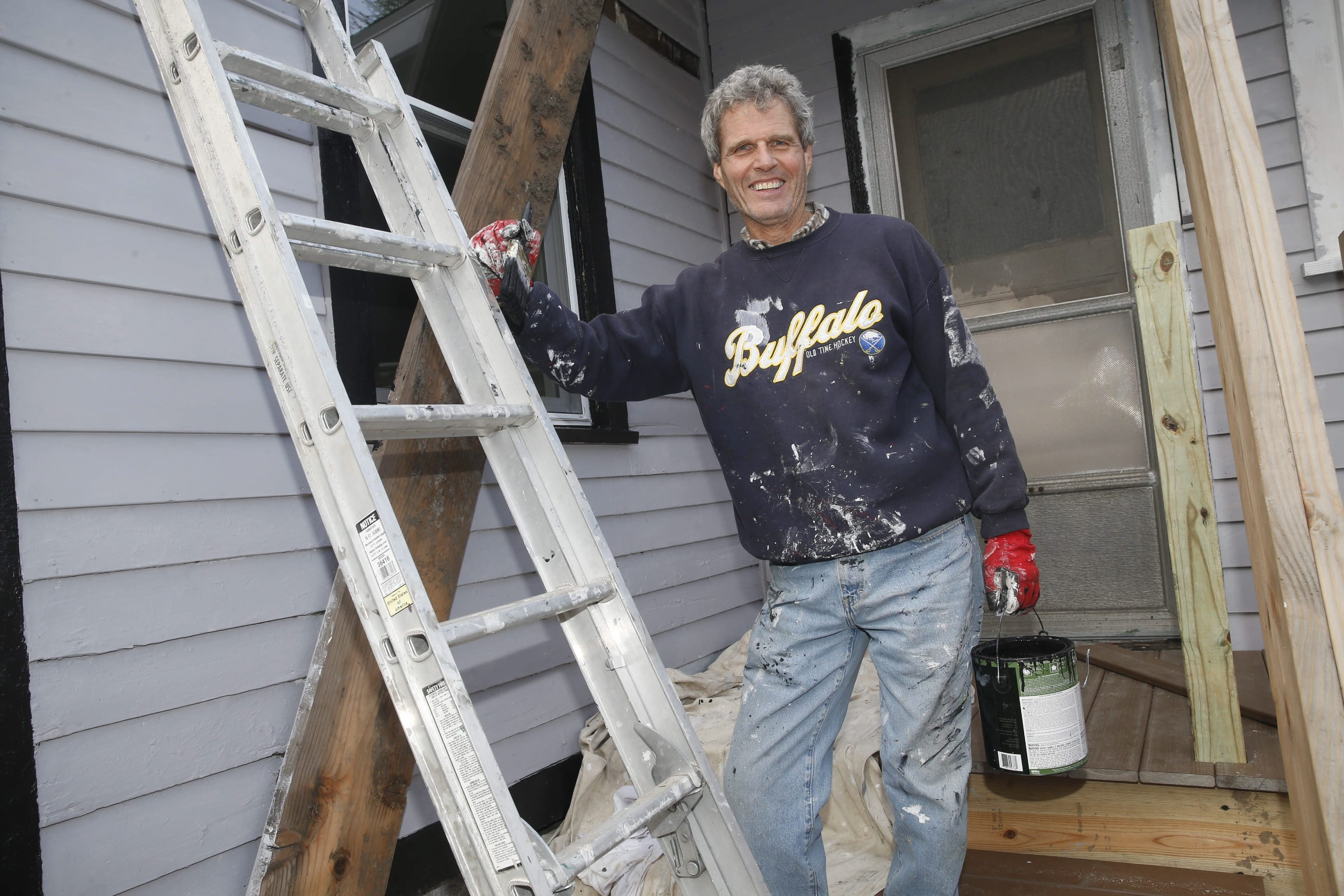 Buffalo News columnist Donn Esmonde has mixed feelings, mostly good, about being a city landlord, although remodeling a West Side cottage proved to be a shock to the wallet.